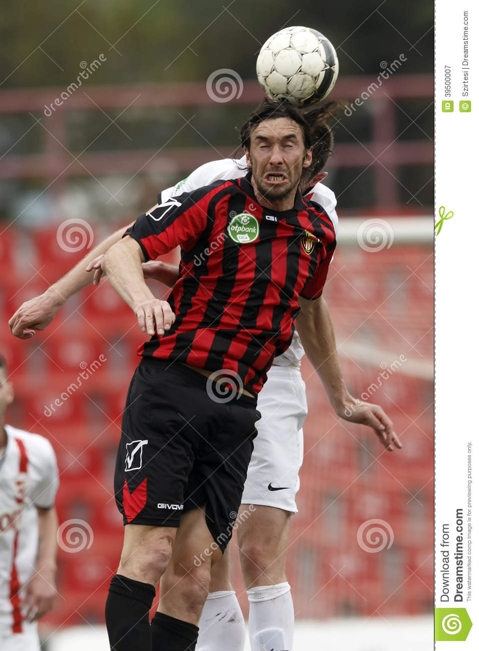 Honved vs. DVTK football match
