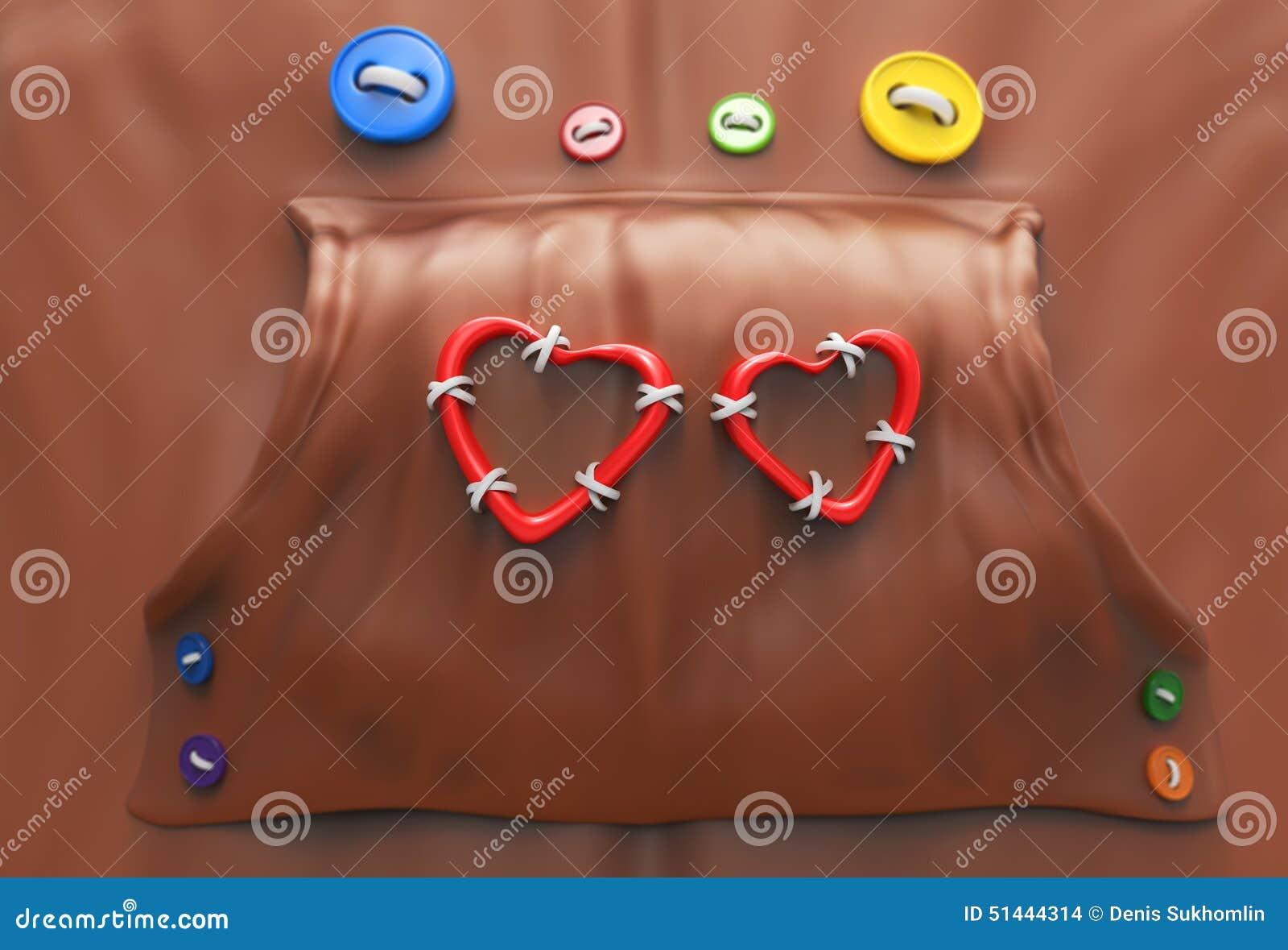 Hoodie με τα κουμπιά και τις καρδιές