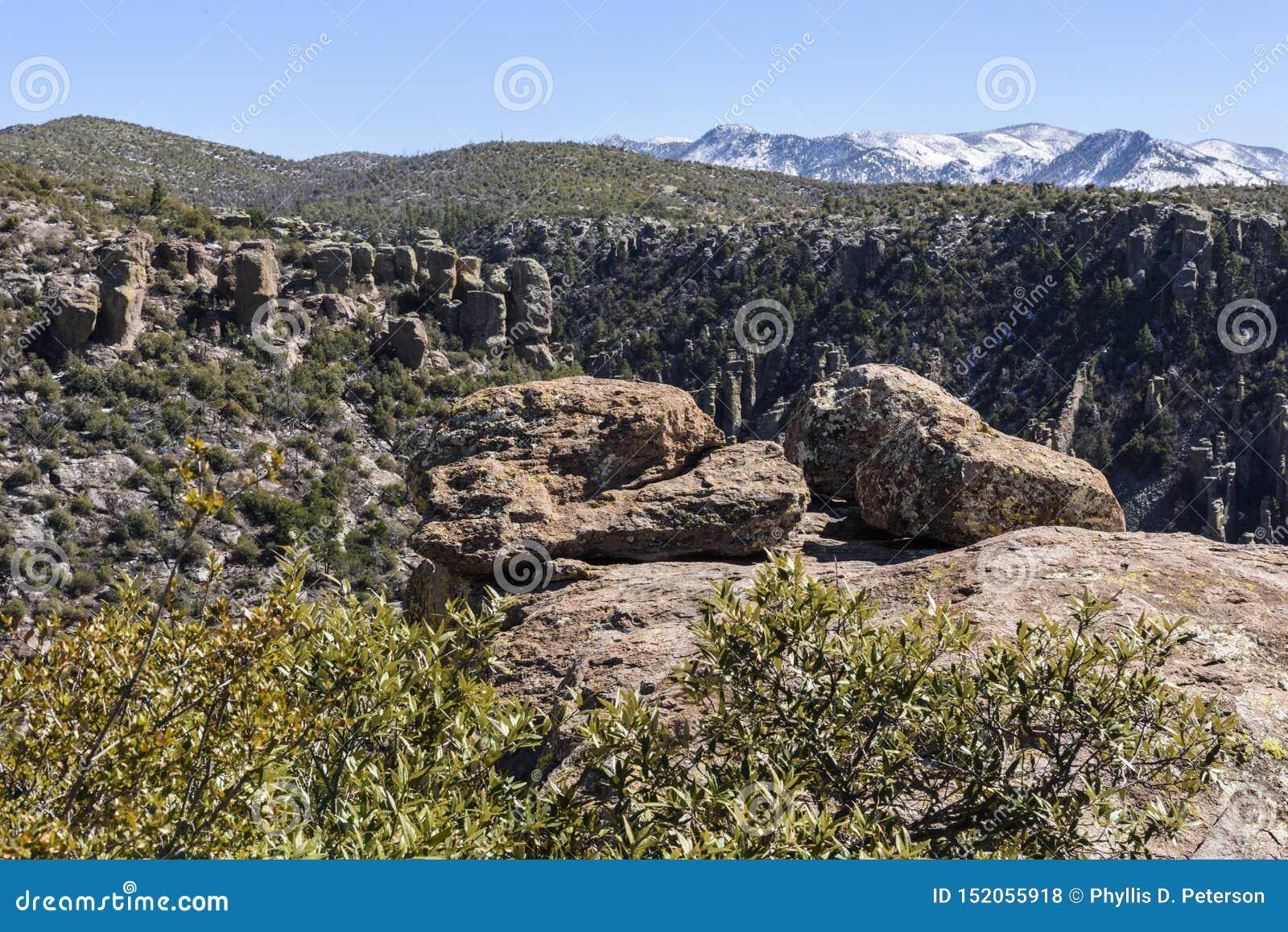 Hoodoos in the Chiricahua National Monument