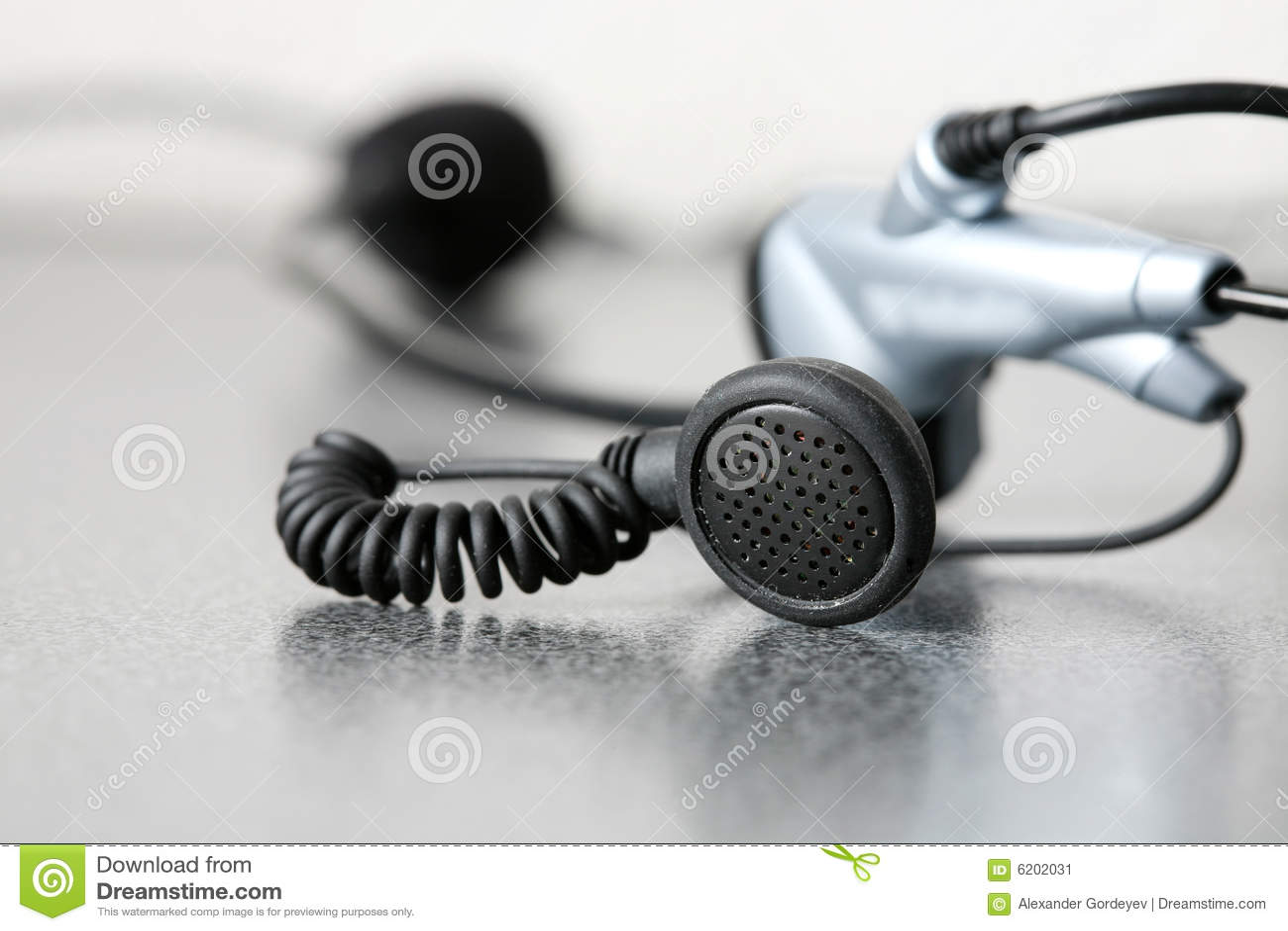 Hoofd telefoon stock afbeelding afbeelding 6202031 - Secretaresse witte ...