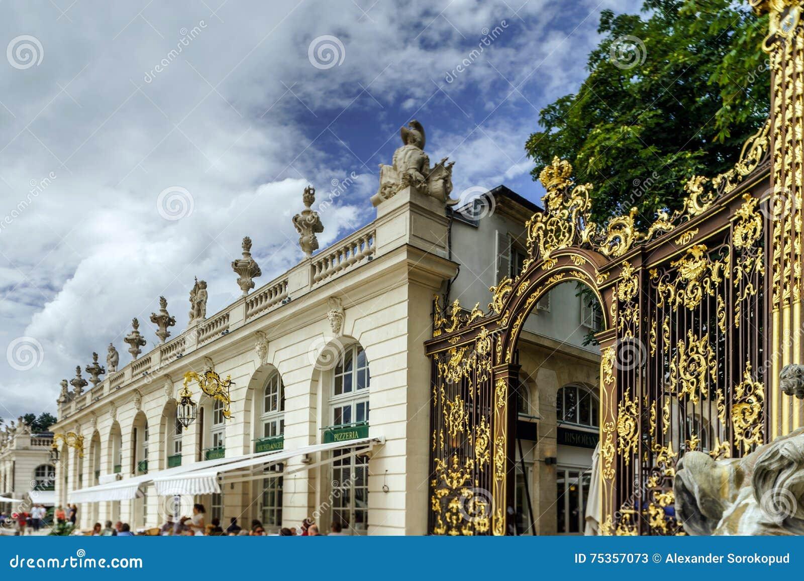 Hoofdartikel, 31 Juli 2016: Nancy, Frankrijk: Toeristisch centrum van