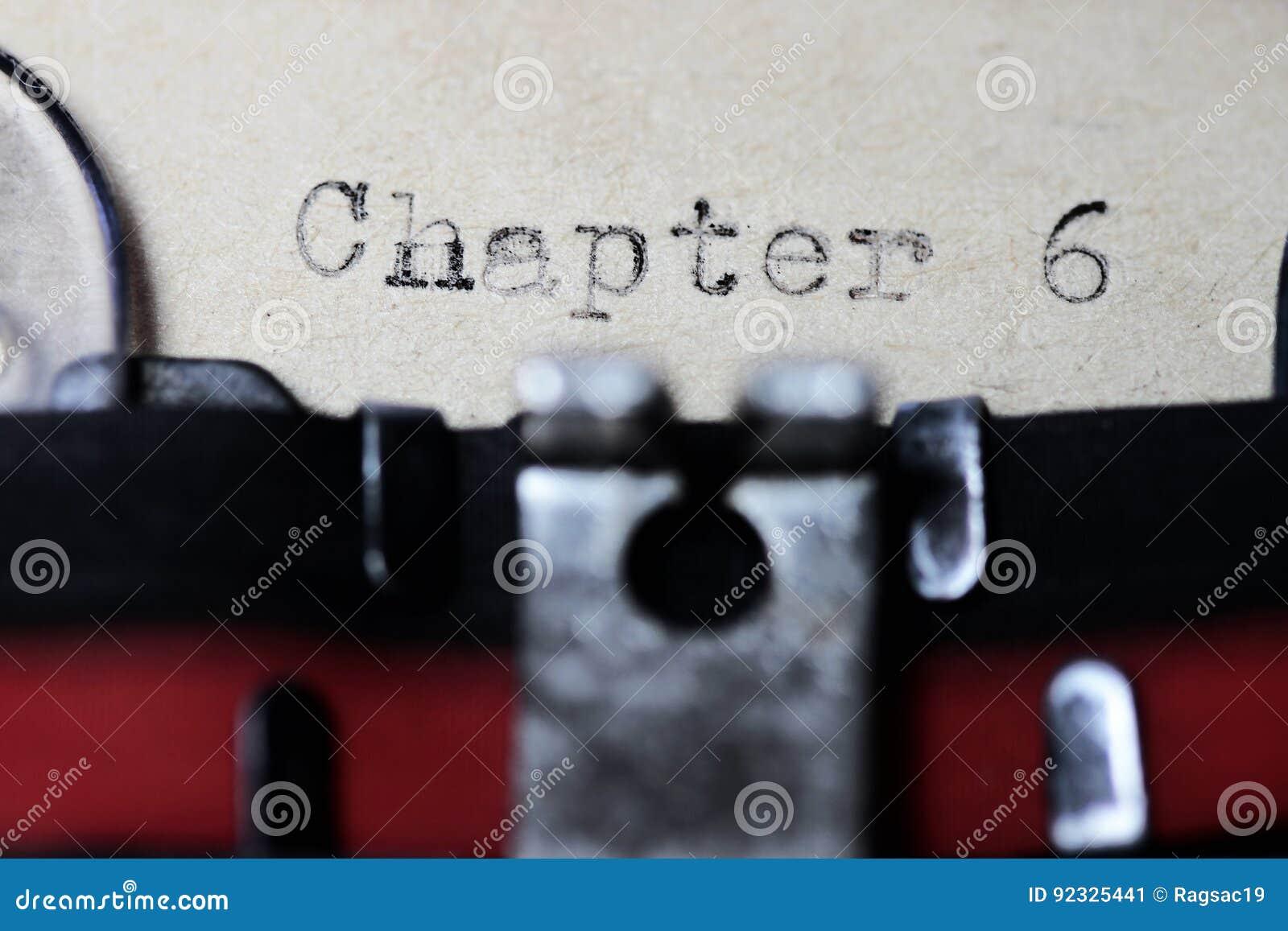Hoofdstuk 6