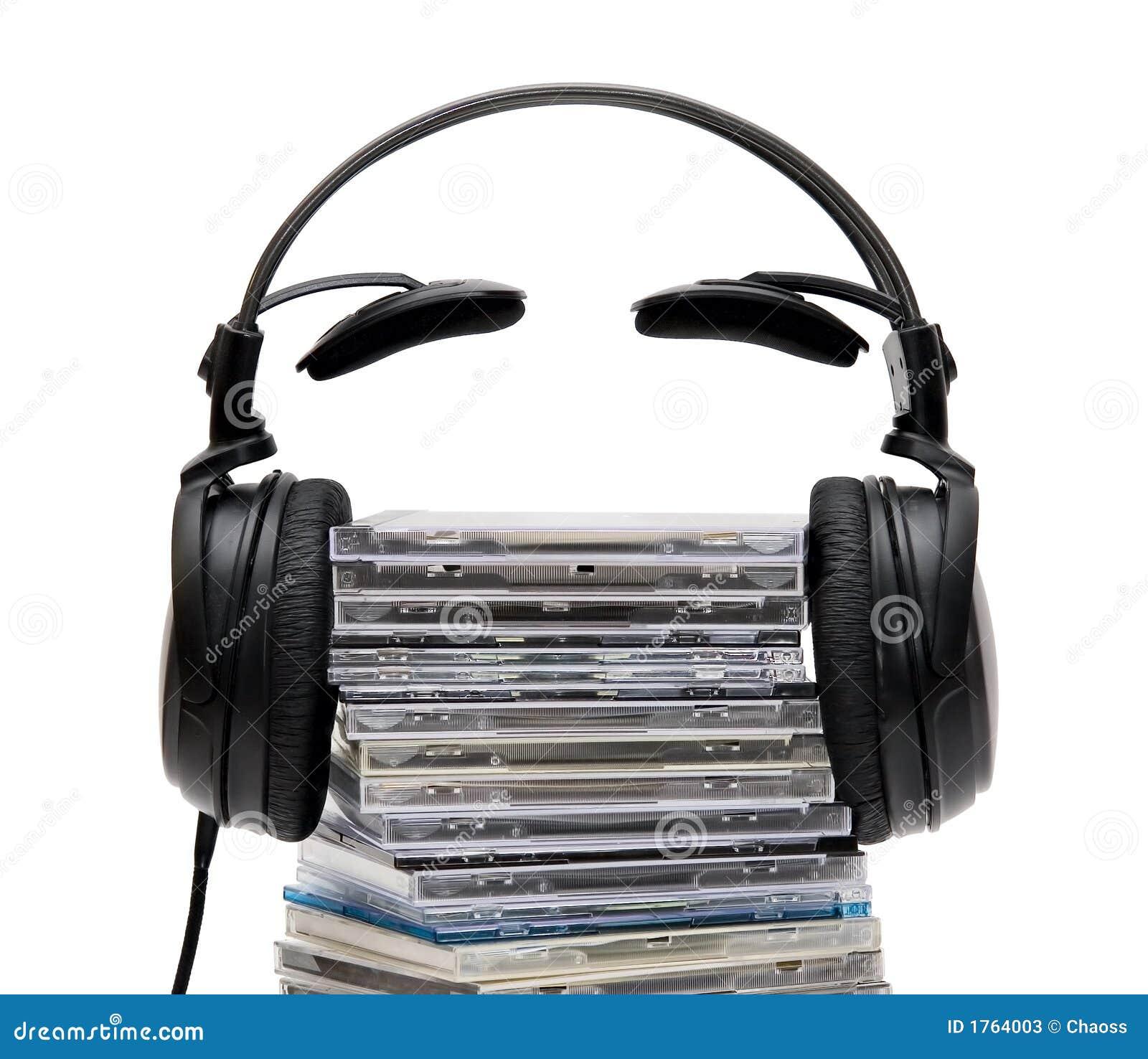 Hoofdtelefoons met CD