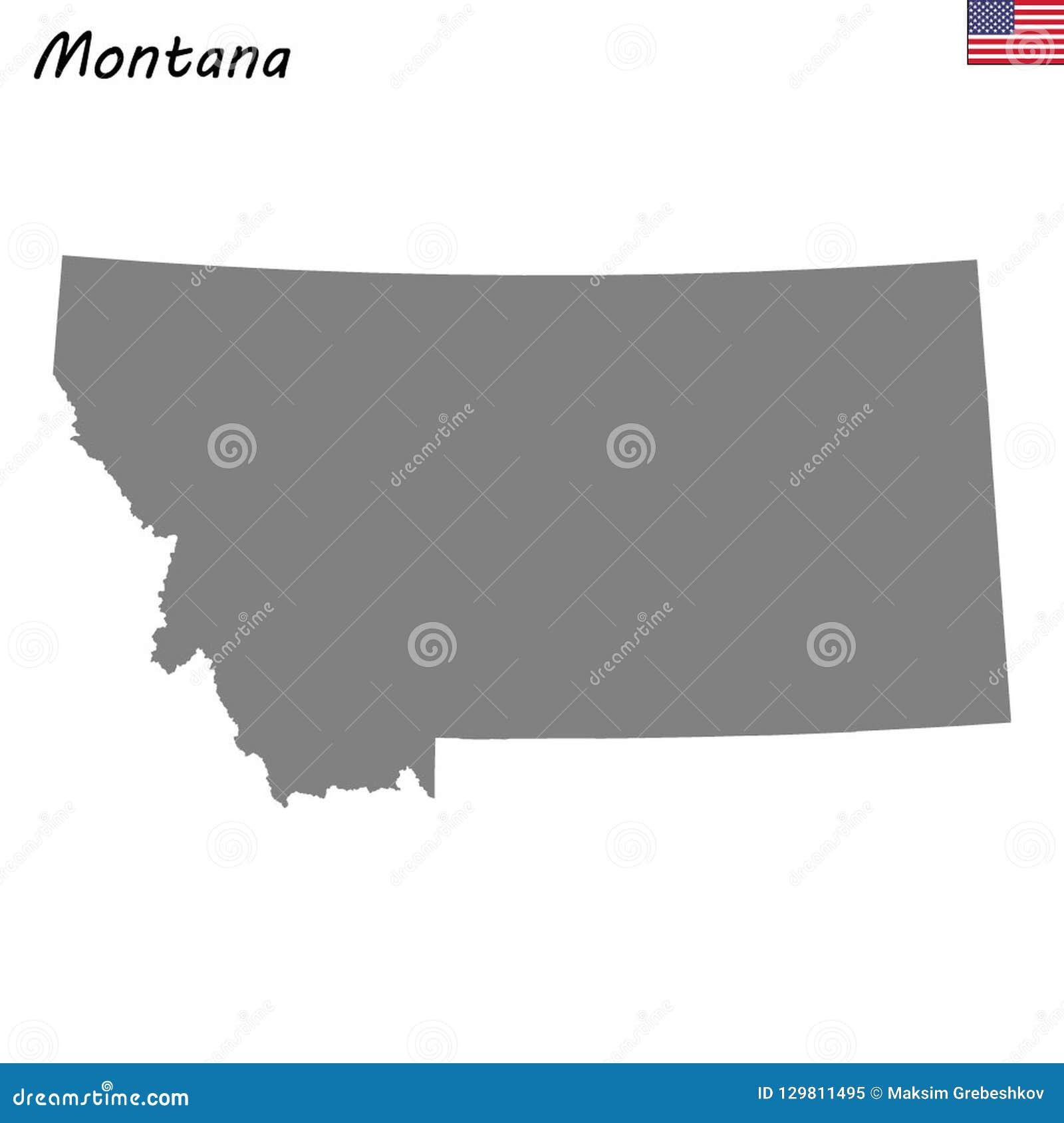 Hoog - de staat van de kwaliteitskaart van Verenigde Staten