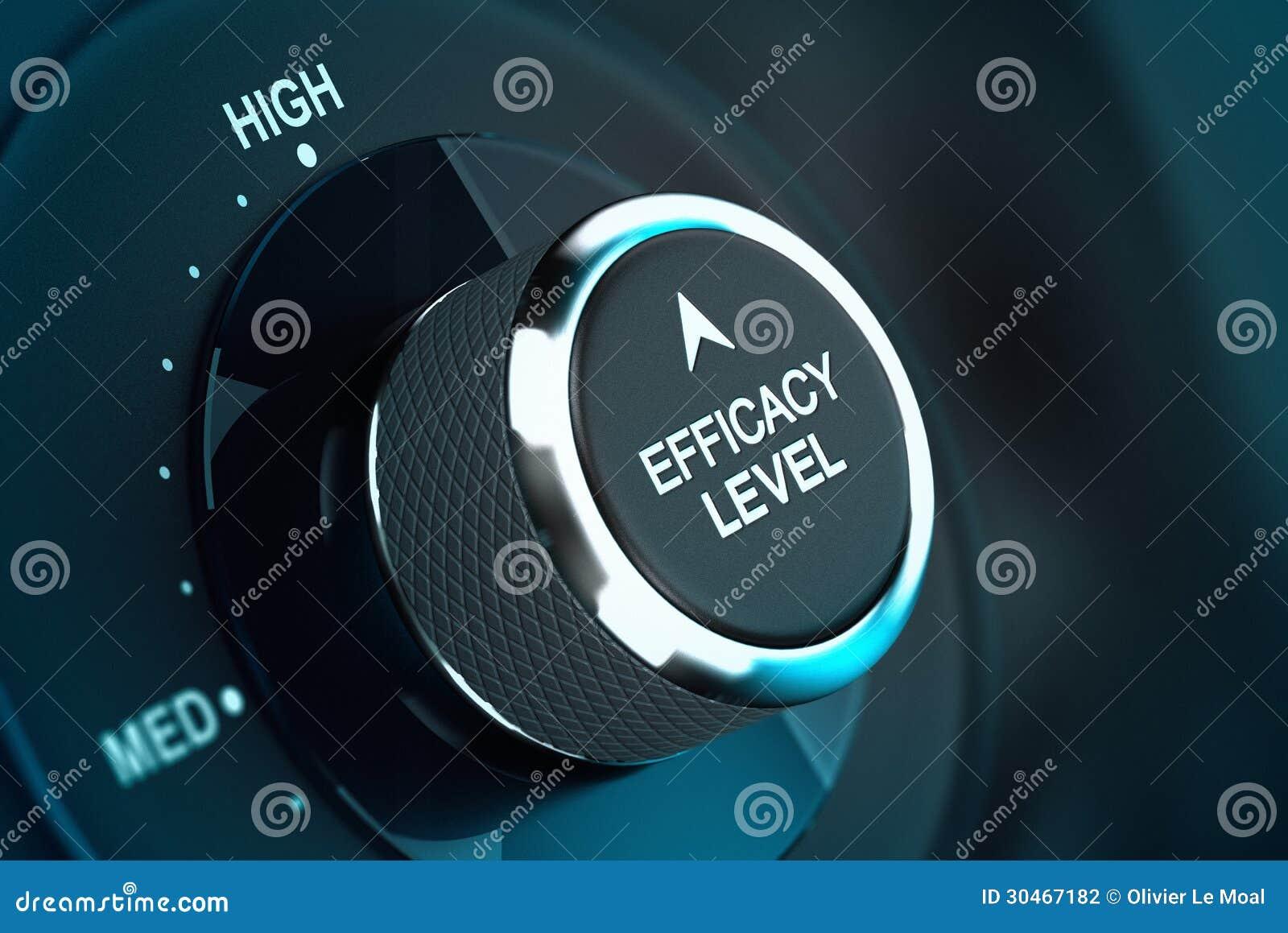 Hoog Zelfdoeltreffendheidsniveau - Efficiencydoelstelling