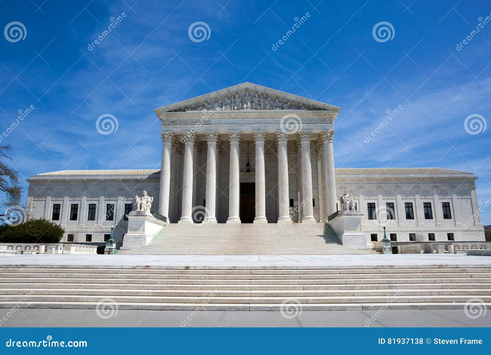 Hooggerechtshof die de V.S. bouwen
