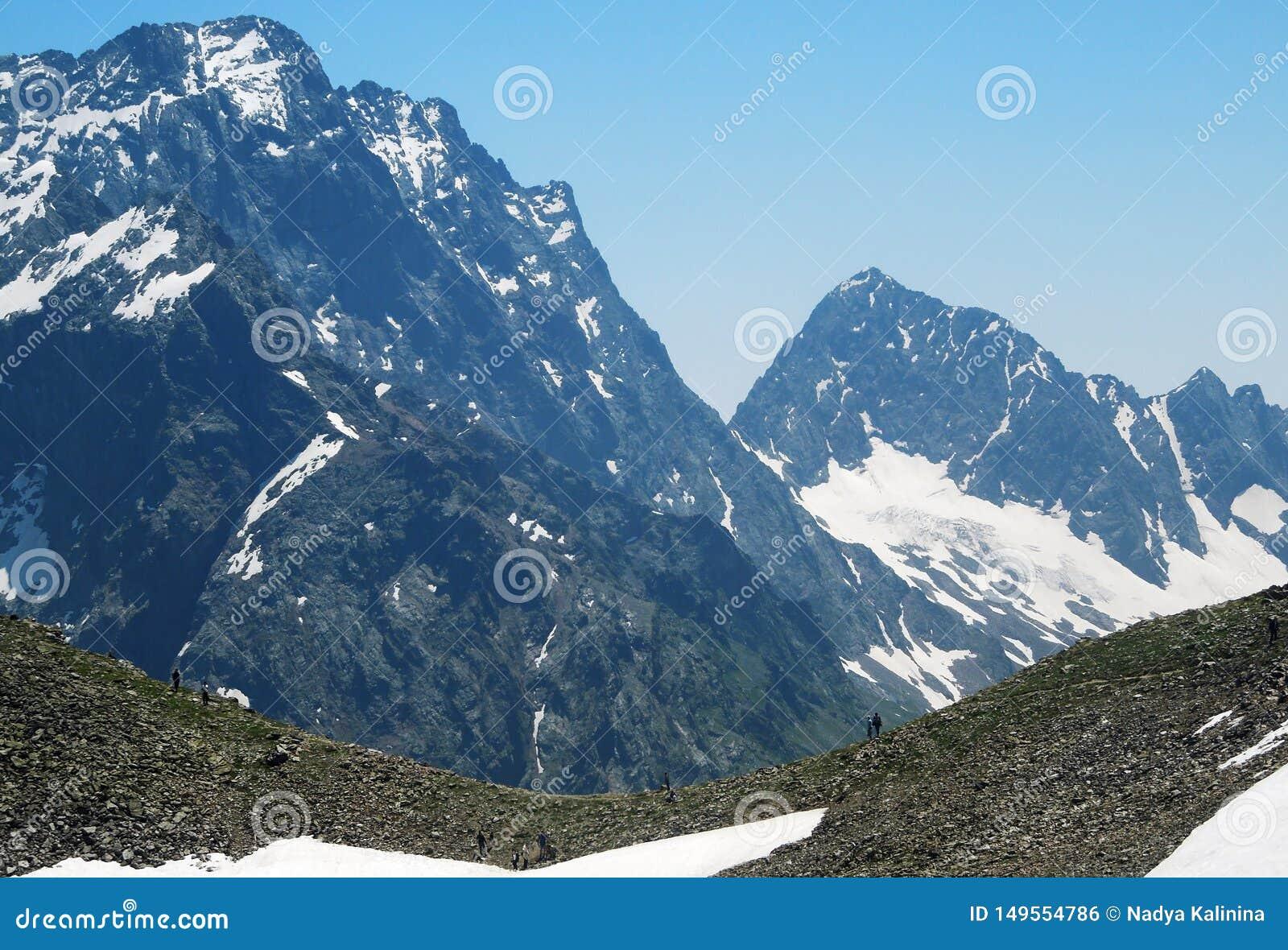 Hoogste berg en verse lucht voor gezondheid