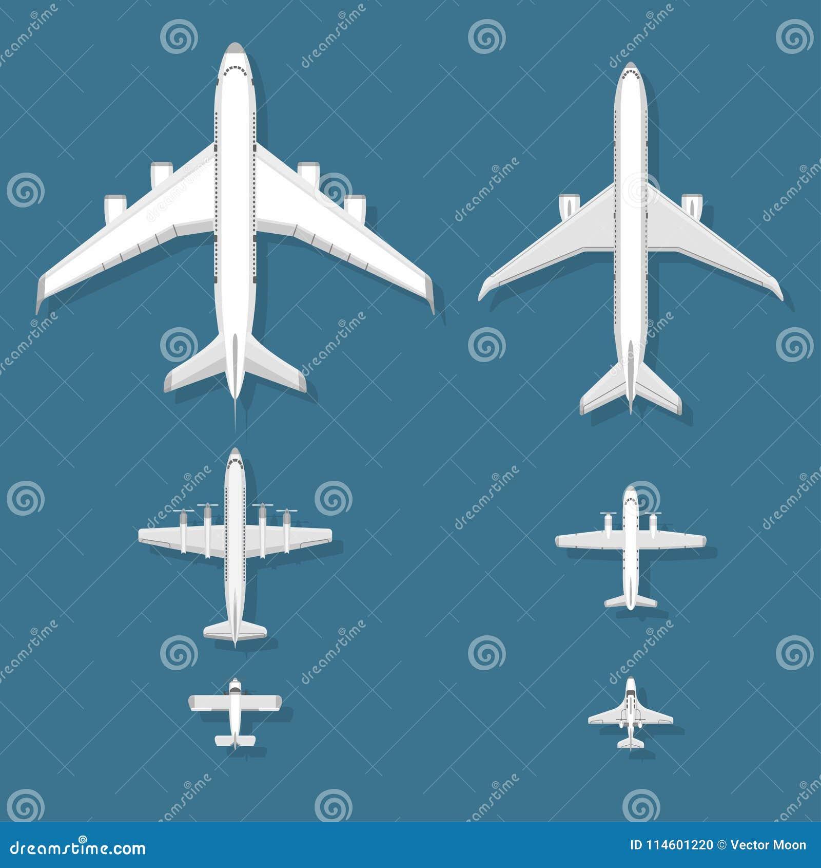Hoogste de meningsvliegtuig van de vliegtuig hebben het vectorillustratie en van de de reismanier van het vliegtuigenvervoer de h