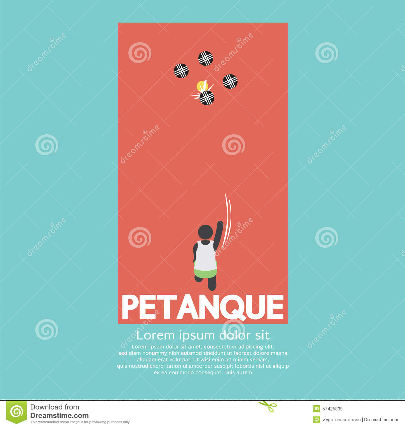 Hoogste Mening van Petanque-het Spelen