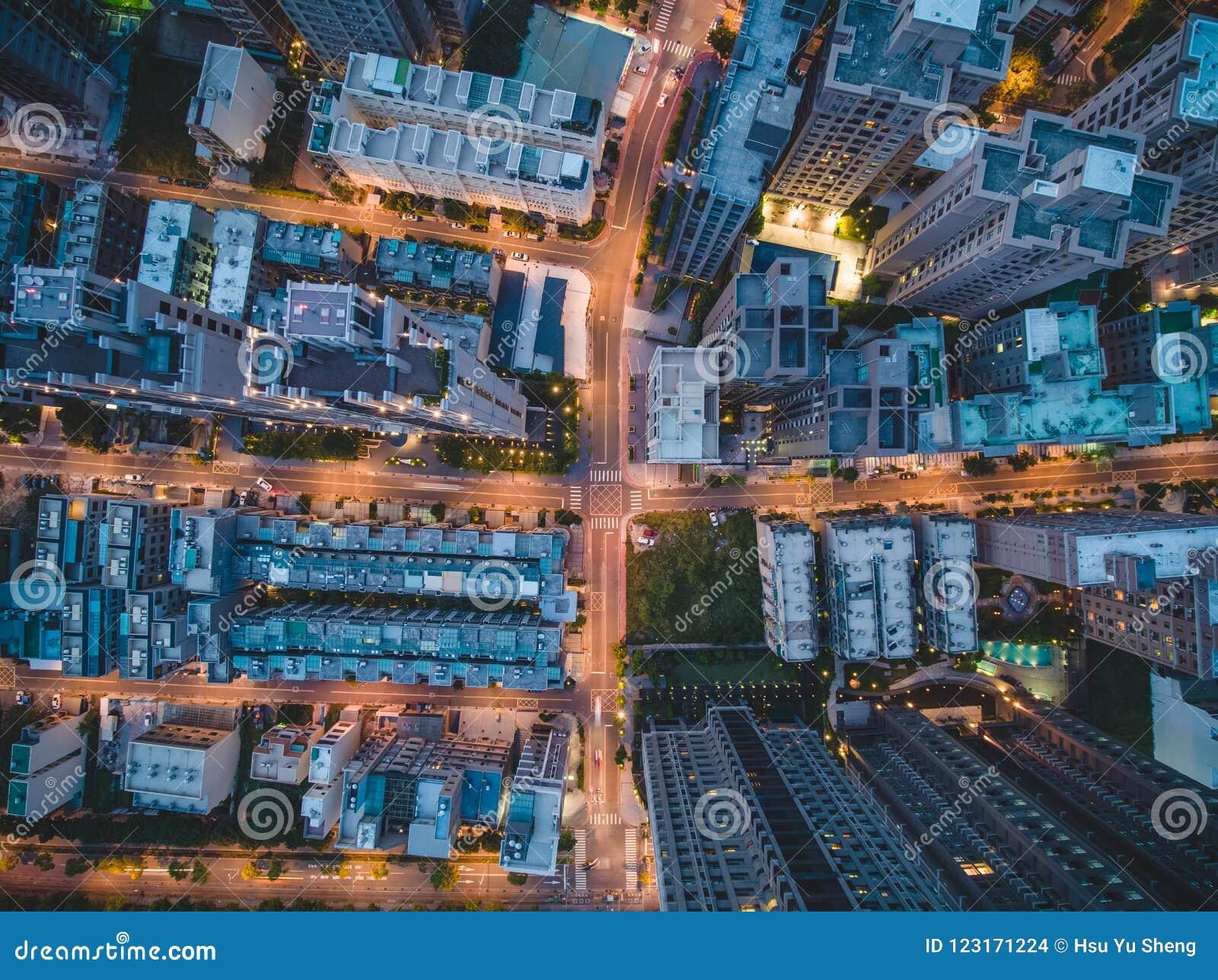 Hoogste Mening van Stadsstraat