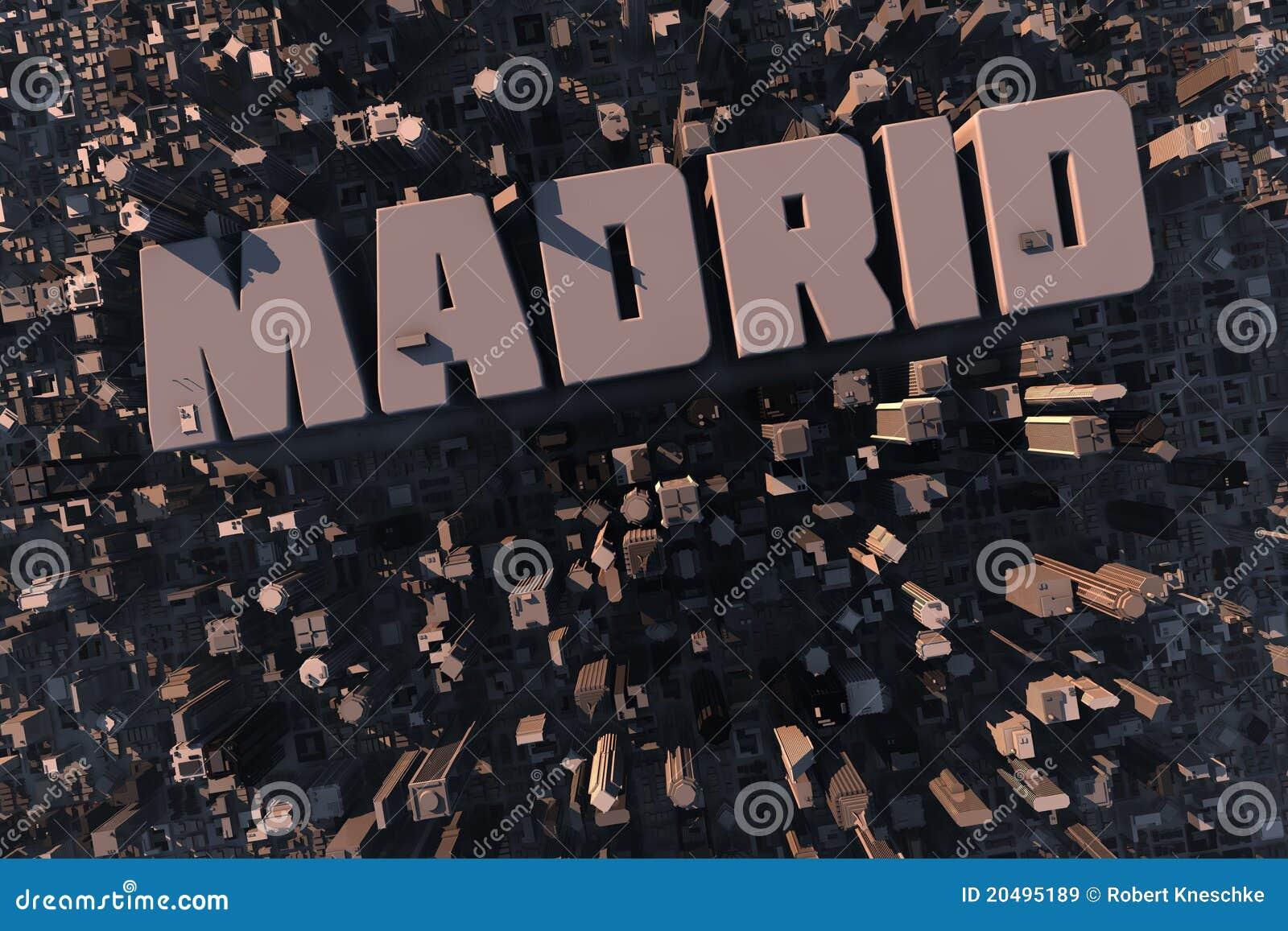 Hoogste mening van stedelijke stad in 3D