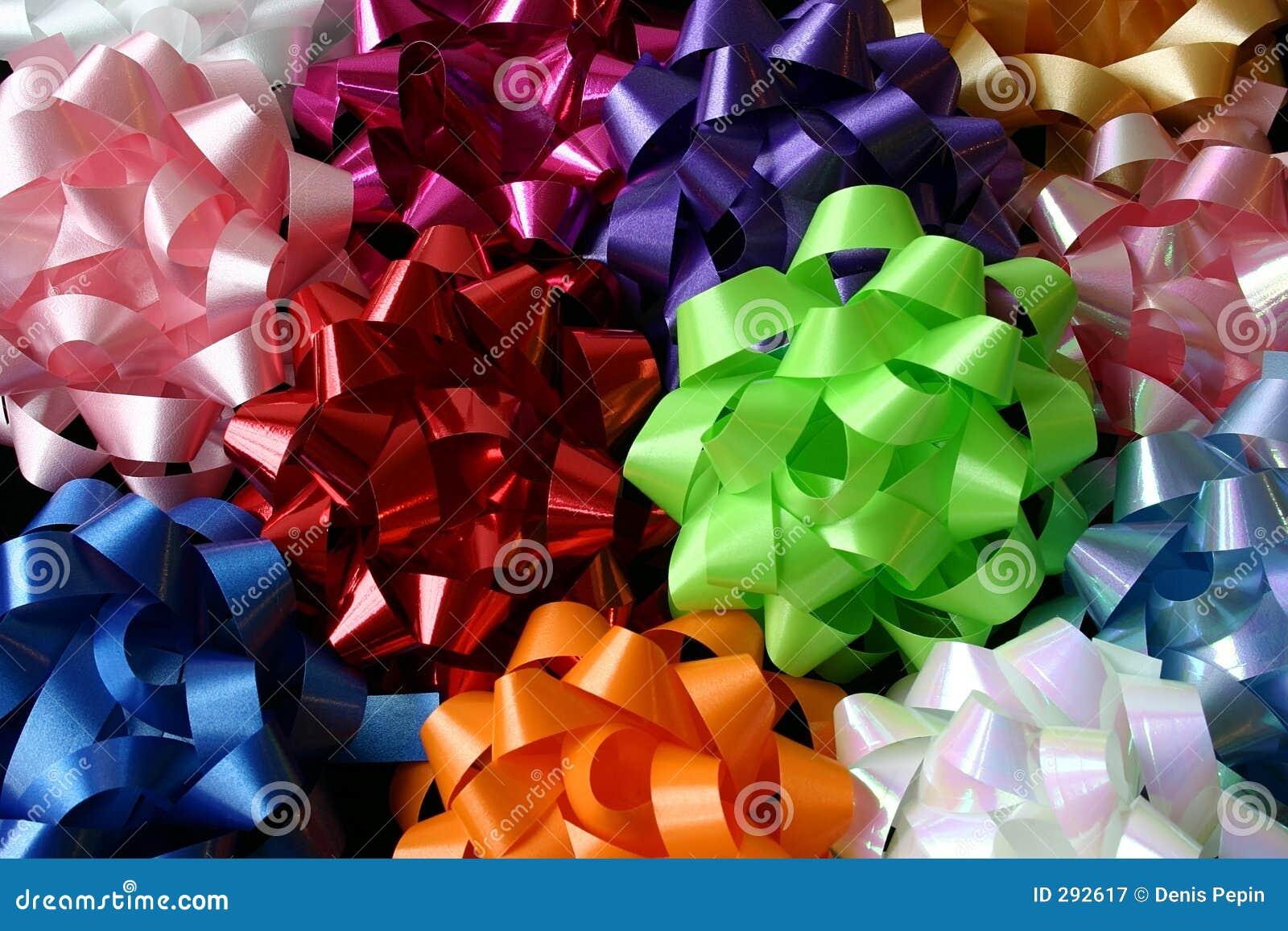 Hoogste Mening van Verscheidene Multicolored Bogen