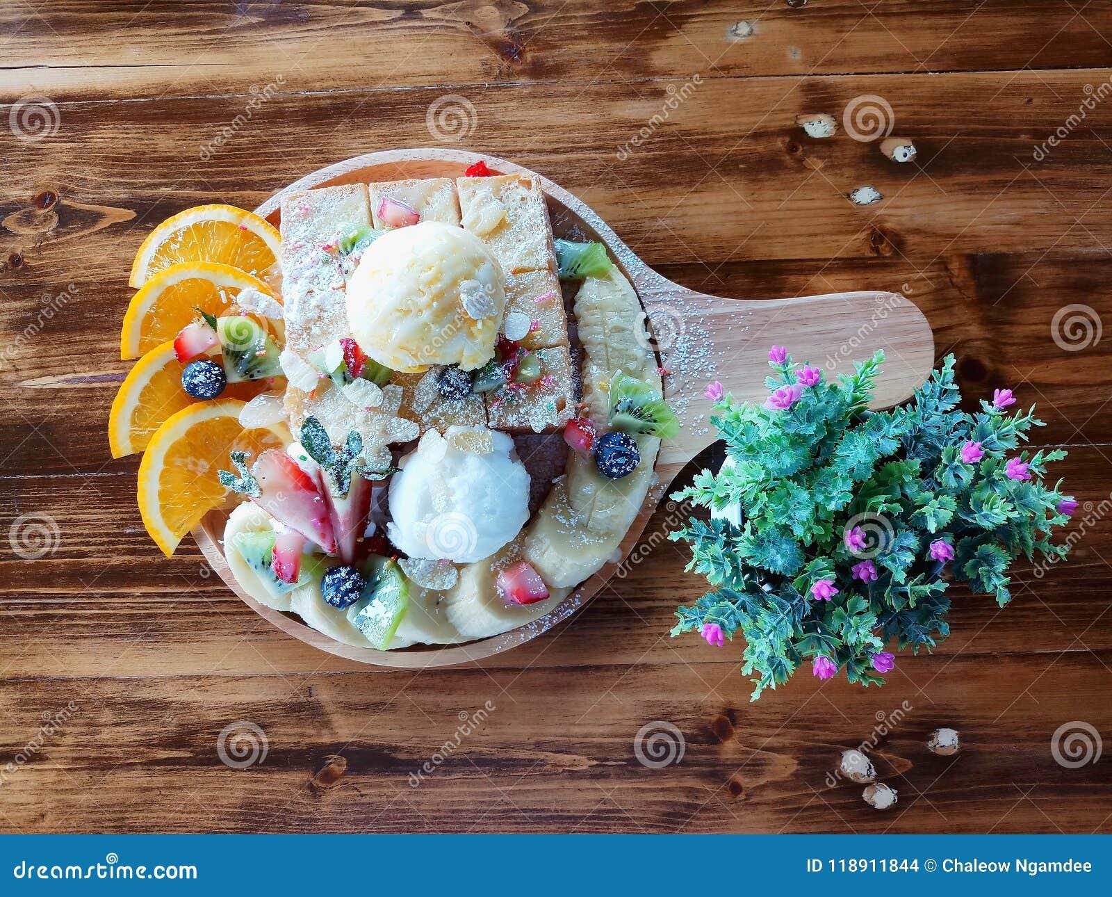 Hoogste meningsnadruk, Brood en roomijs