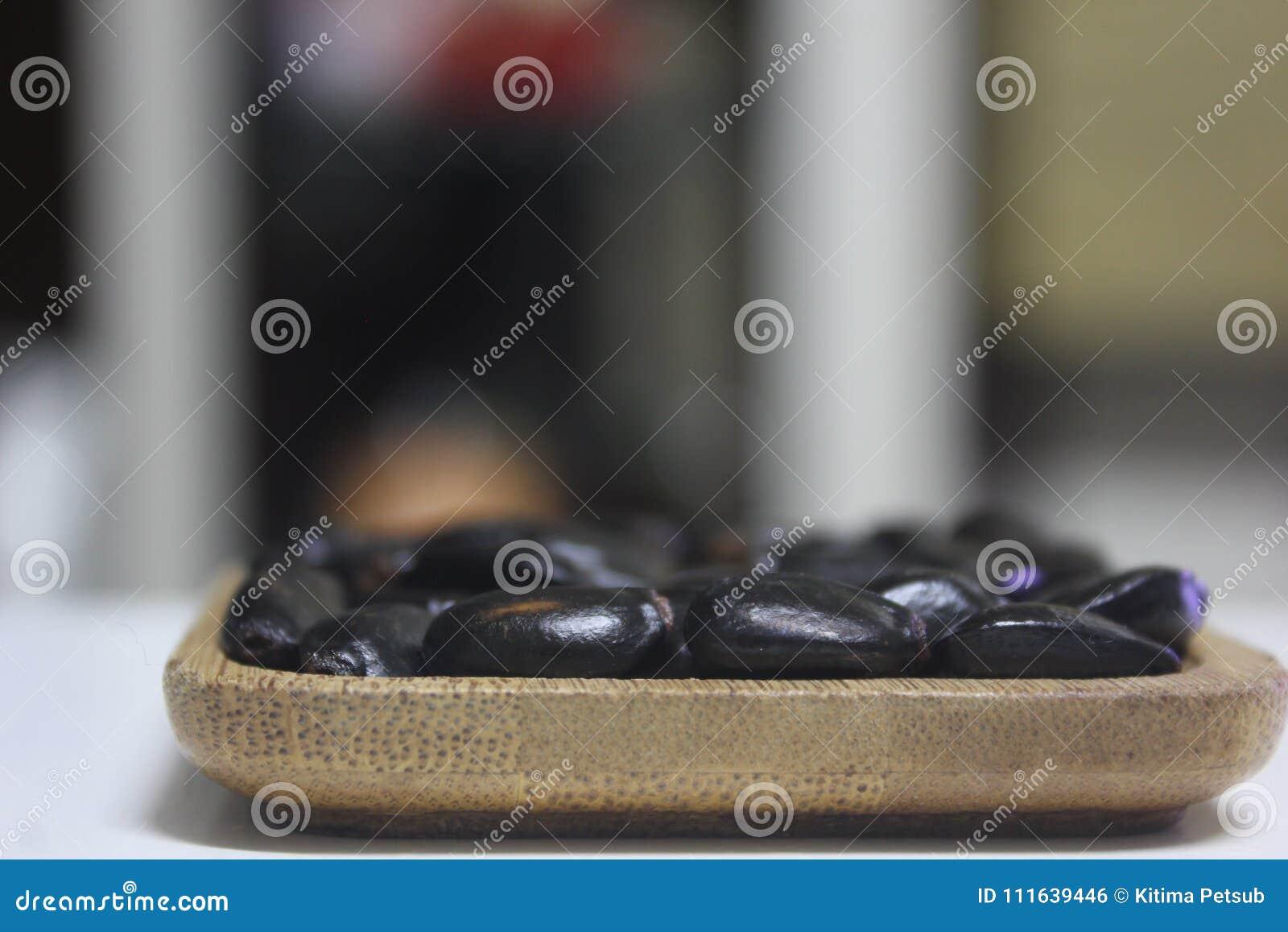 Hoop van de zaden of de pitten van de vlaappel