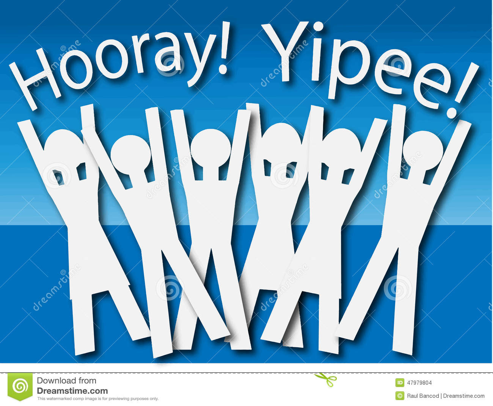 Hooray Clip Art hooray stock illustrations, vectors, & clipart ...