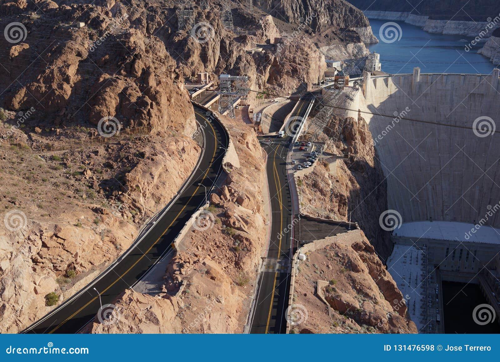 The Hoover Dam 27 editorial stock photo  Image of herbert - 131476598
