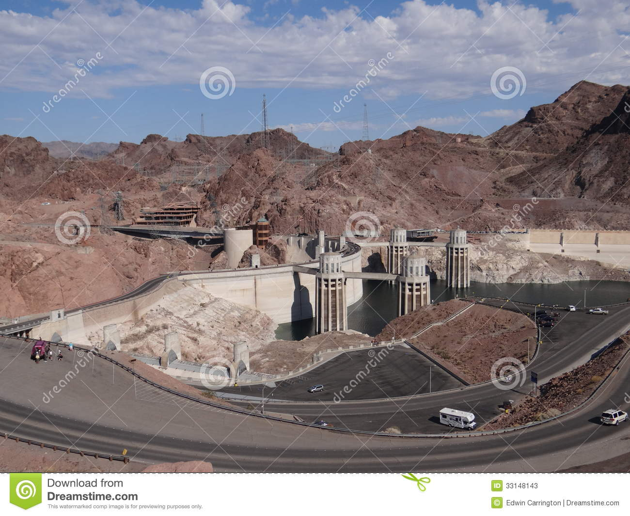 Hoover dam editorial stock photo image 33148143 for Hoover dam motor coach tour