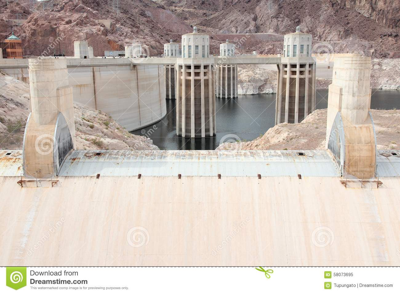 Hoover (AL) United States  City pictures : Hoover Dam in United States. Hydroelectric power station on the border ...