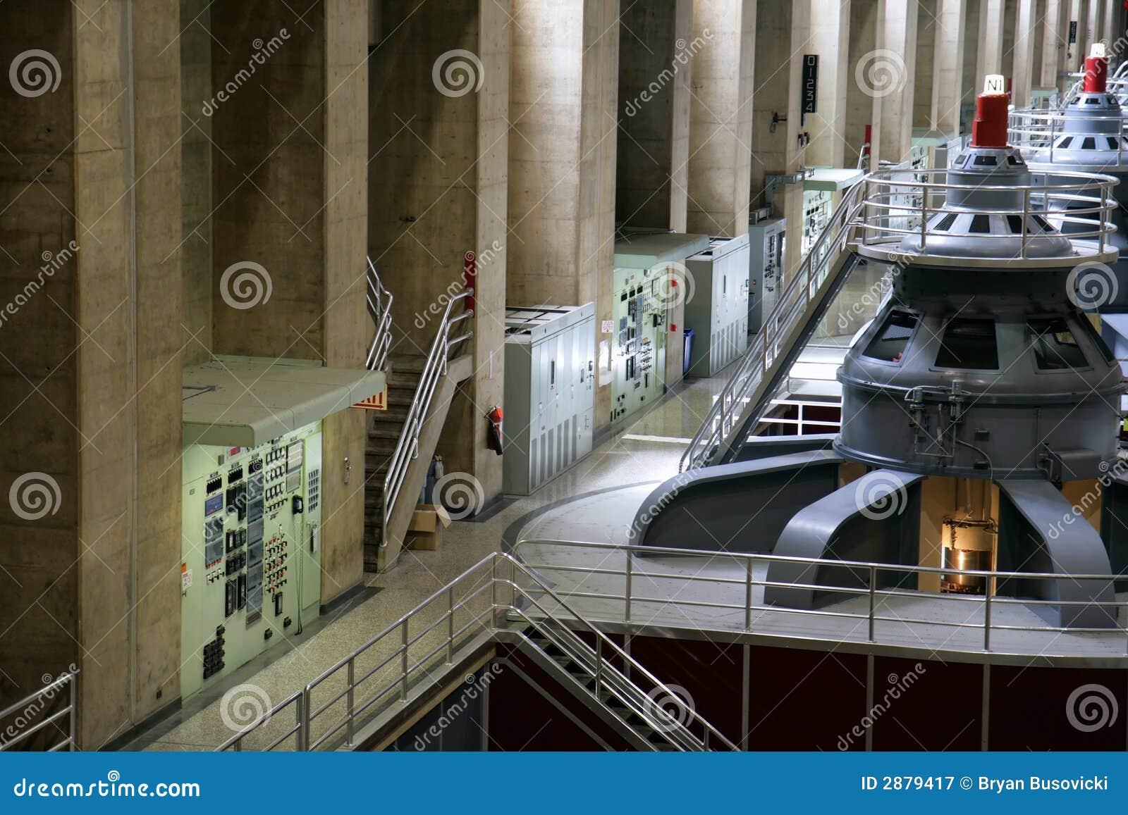 Hooverdamms-Generatoren