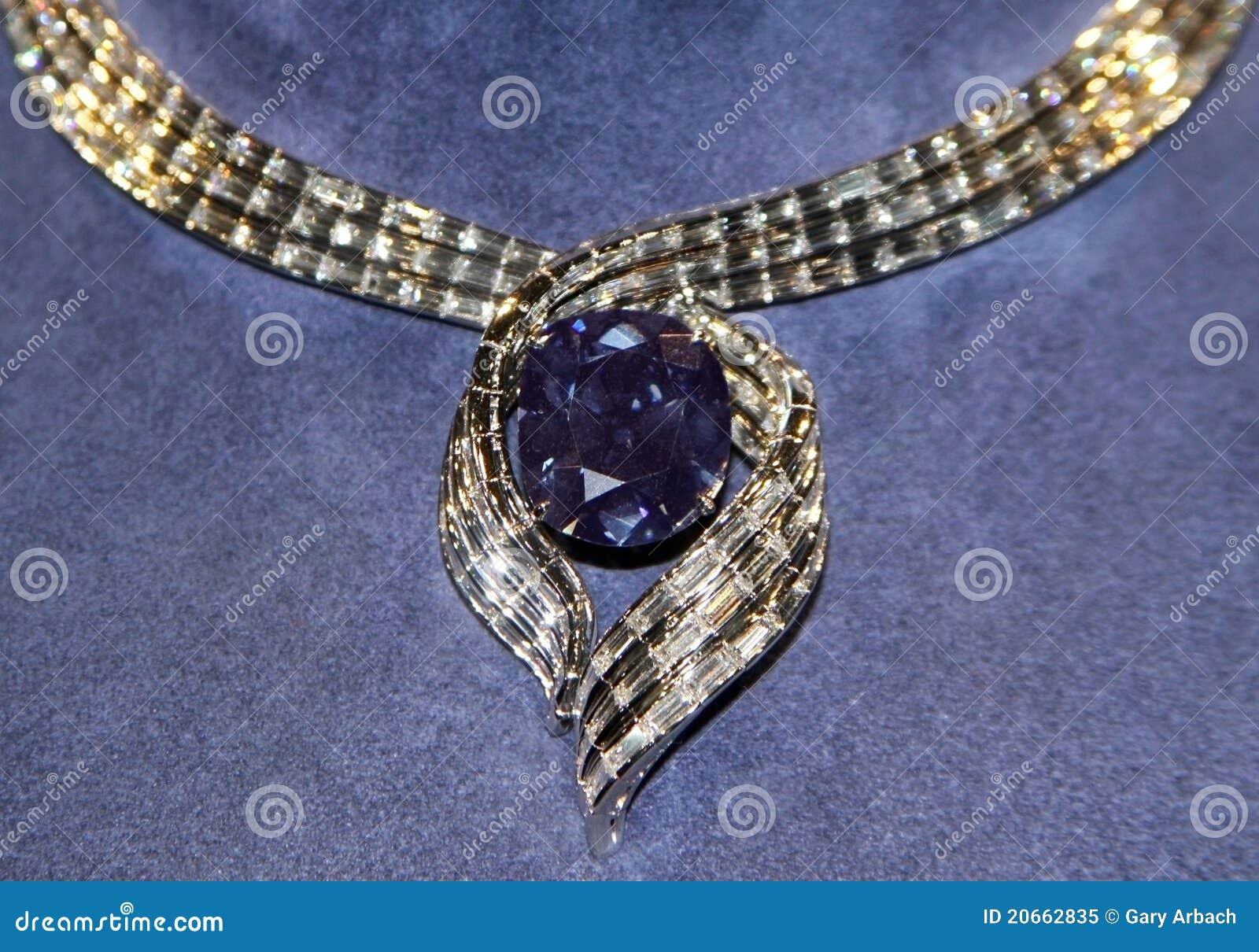 the hope diamond editorial image