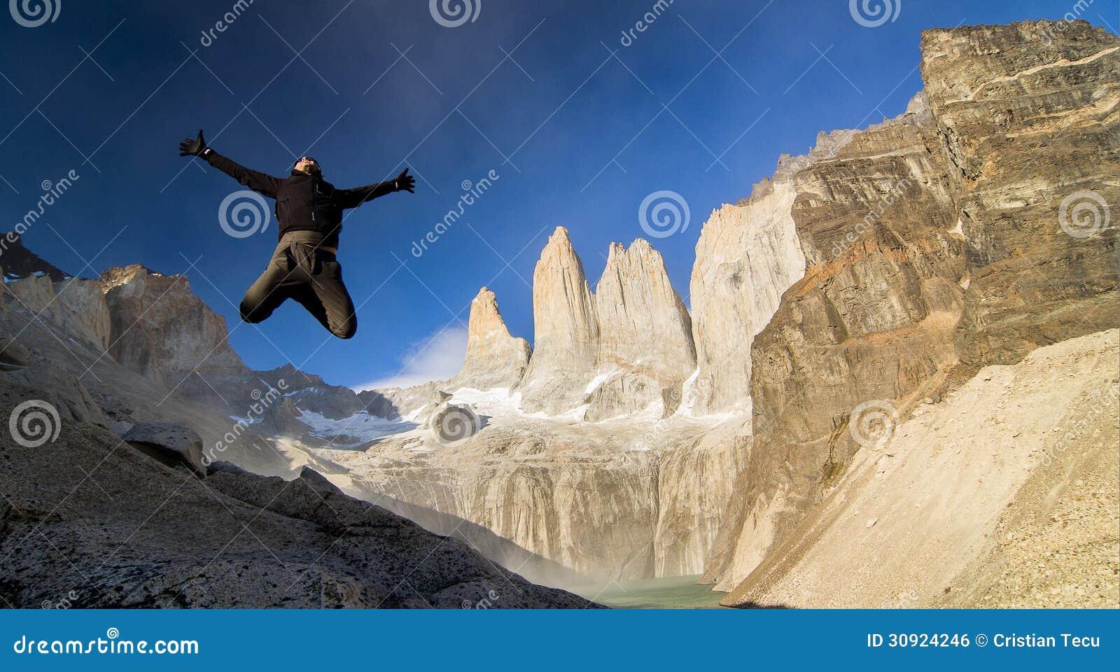 Hopp på Torres Del Paine