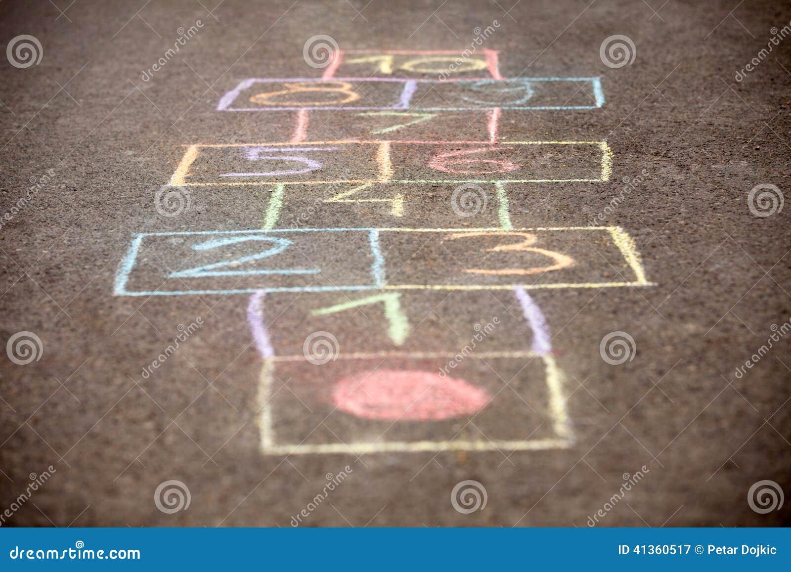 Hopscotch Chalk