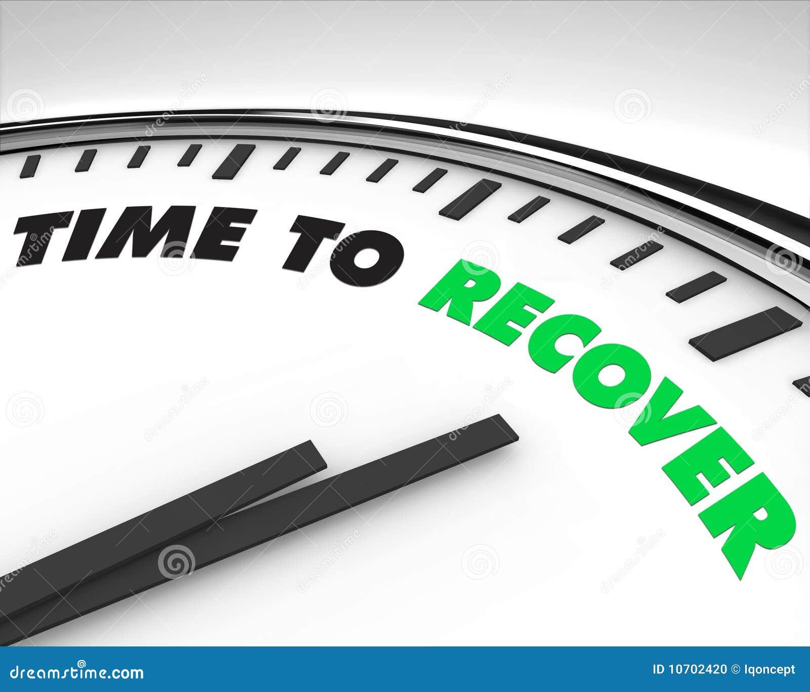 Hora de recuperar - el reloj