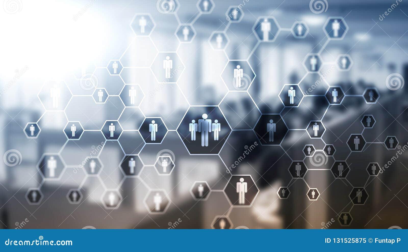 Hora, estrutura de recursos humanos, de recrutamento, de organização e conceito social da rede