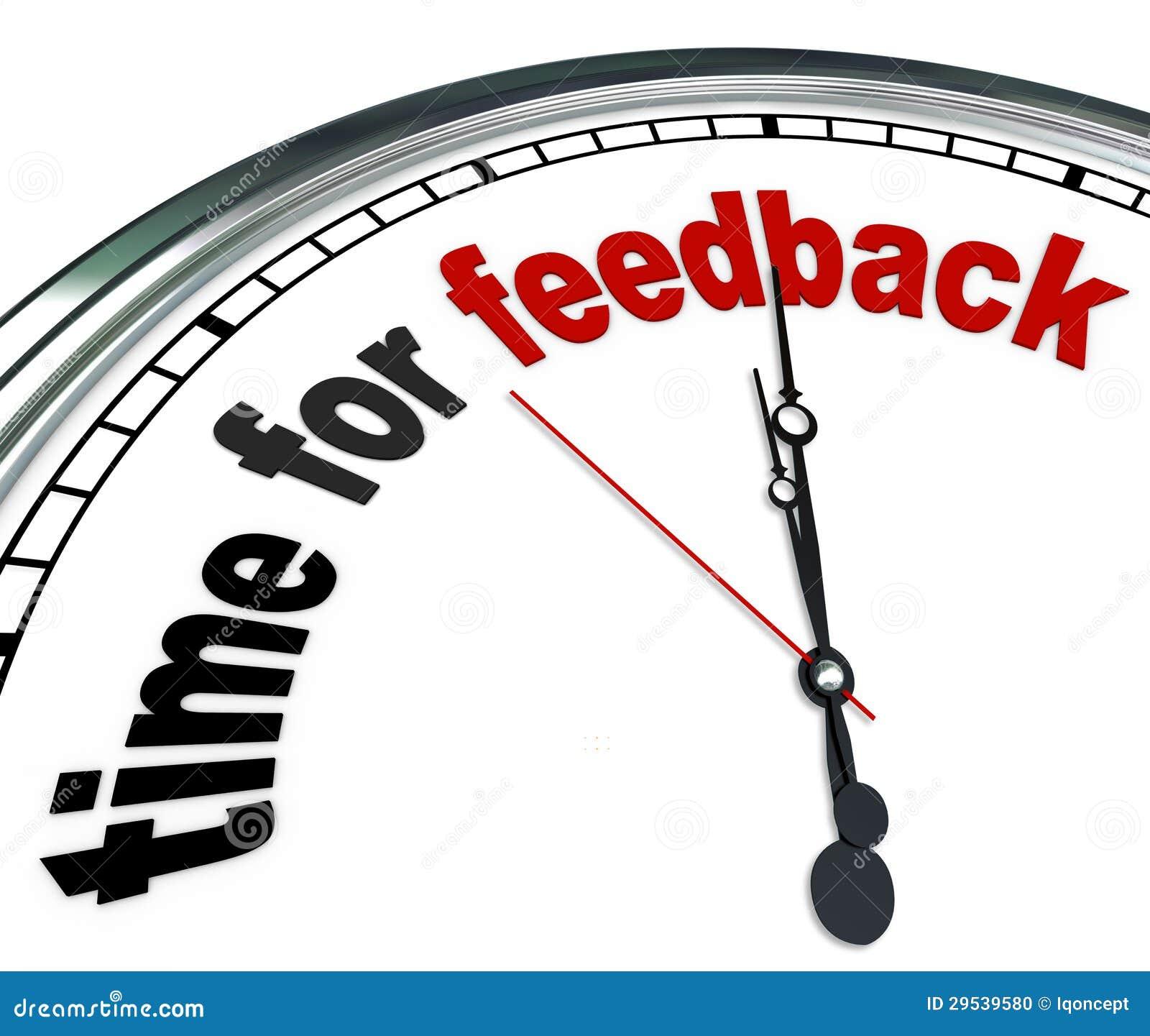 Hora para a entrada e as respostas de pulso de disparo do feedback