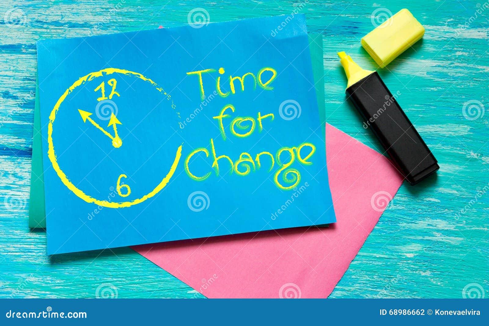 Hora para las citas inspiradas blanco-pintadas cambio del reloj