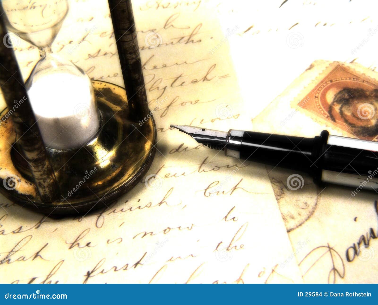 Hora para uma letra
