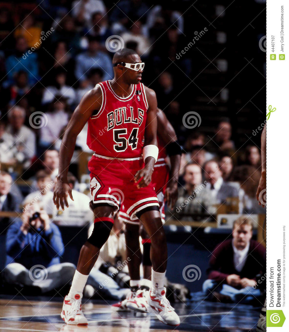 Horace Grant Chicago Bulls Editorial graphy Image