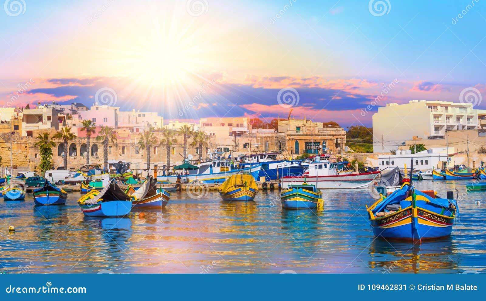 Horbor de La Valeta de Malta