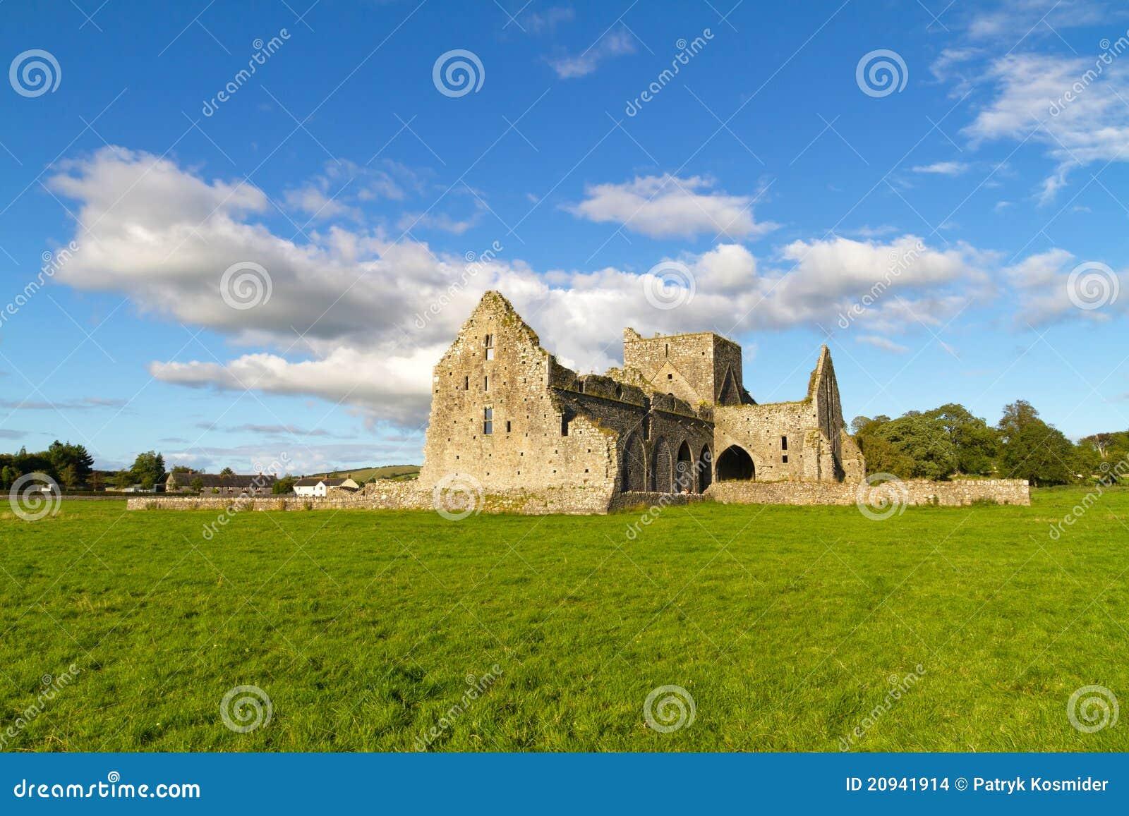 Hore abbey near the rock of cashel, co. tipperary, ireland