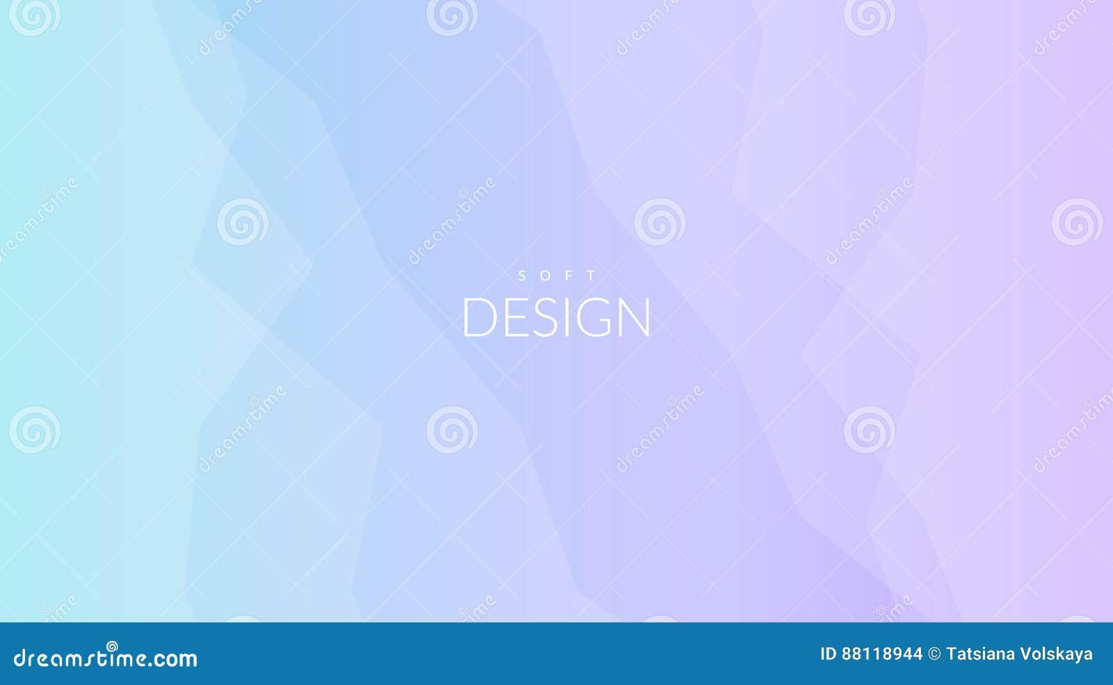 Horisontalbakgrund för suddig mjuk färglutning