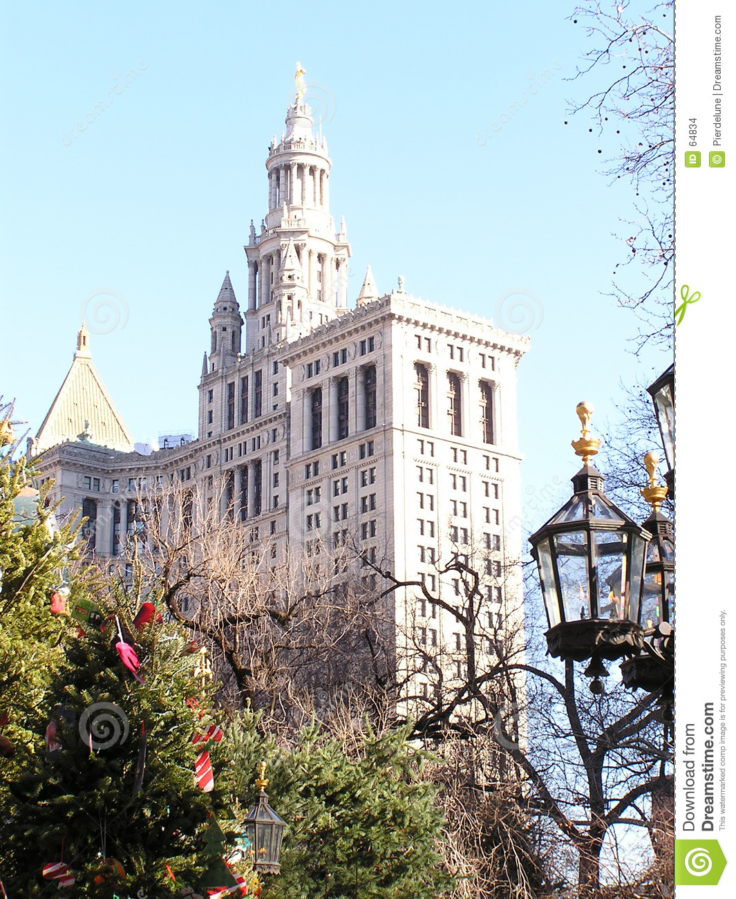 Download Horizon 4 de New York photo stock. Image du lampe, cityscape - 64834