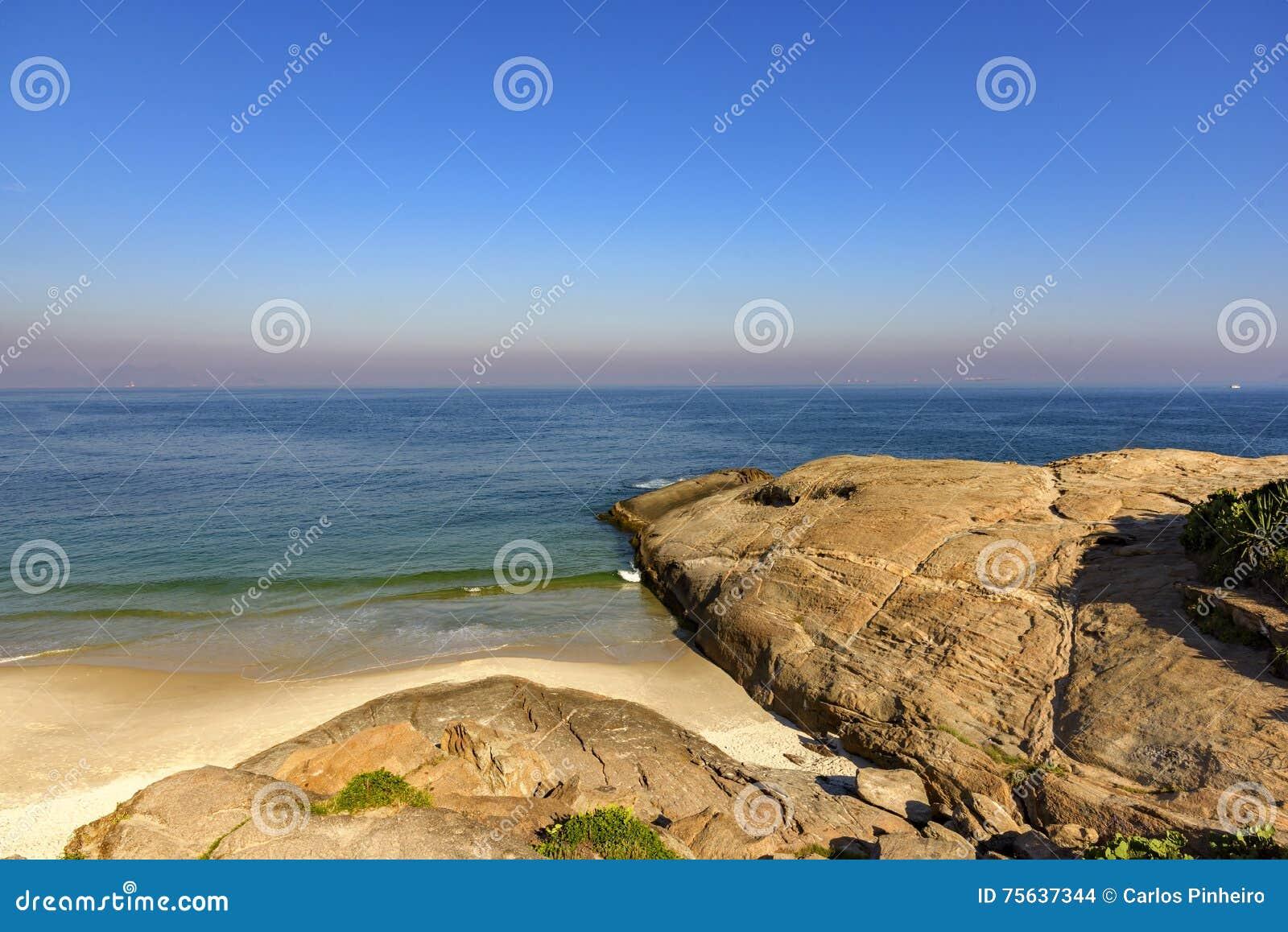 Horizon bij het strand van de Duivel
