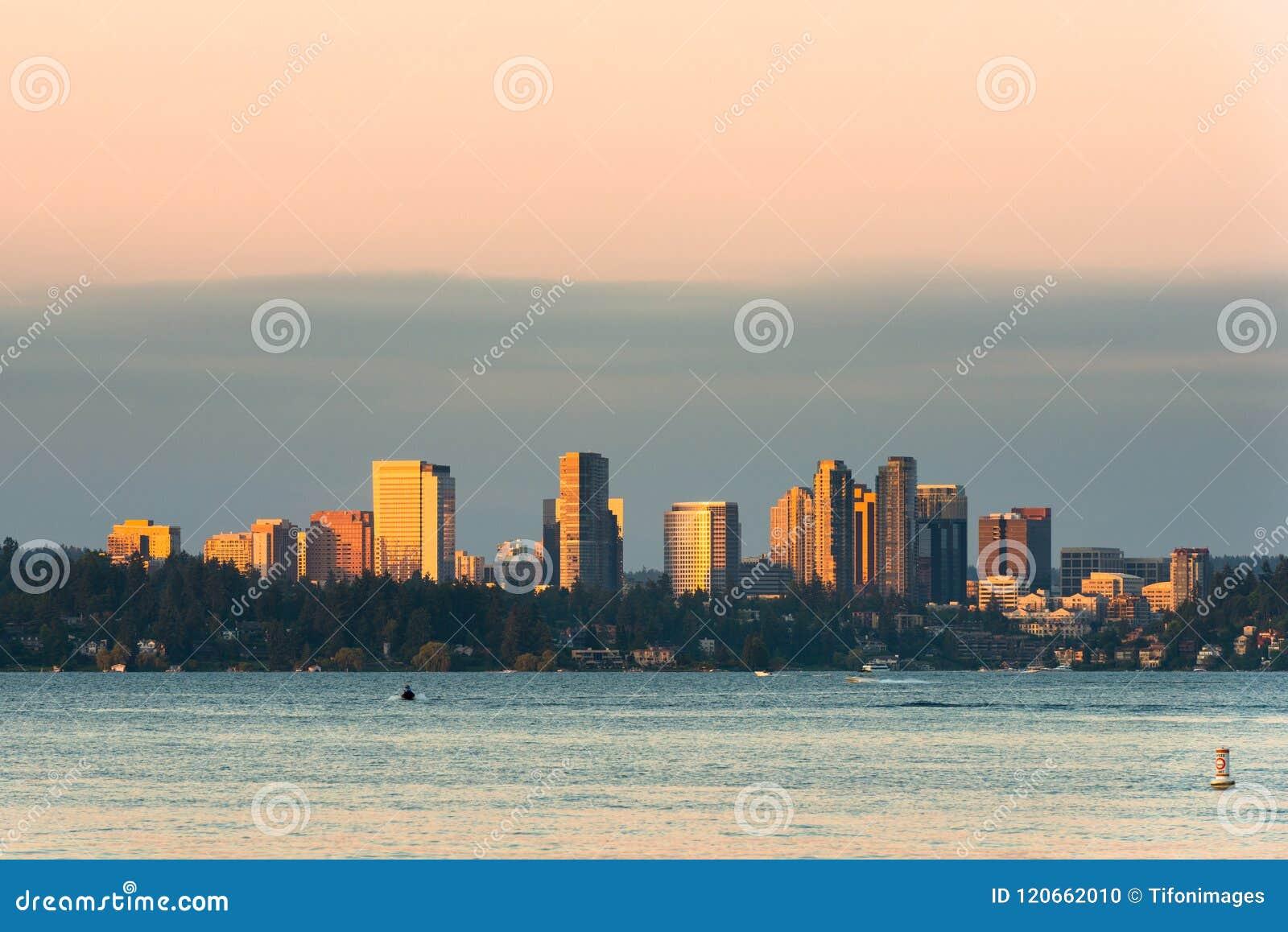 Horizon de Bellevue du centre