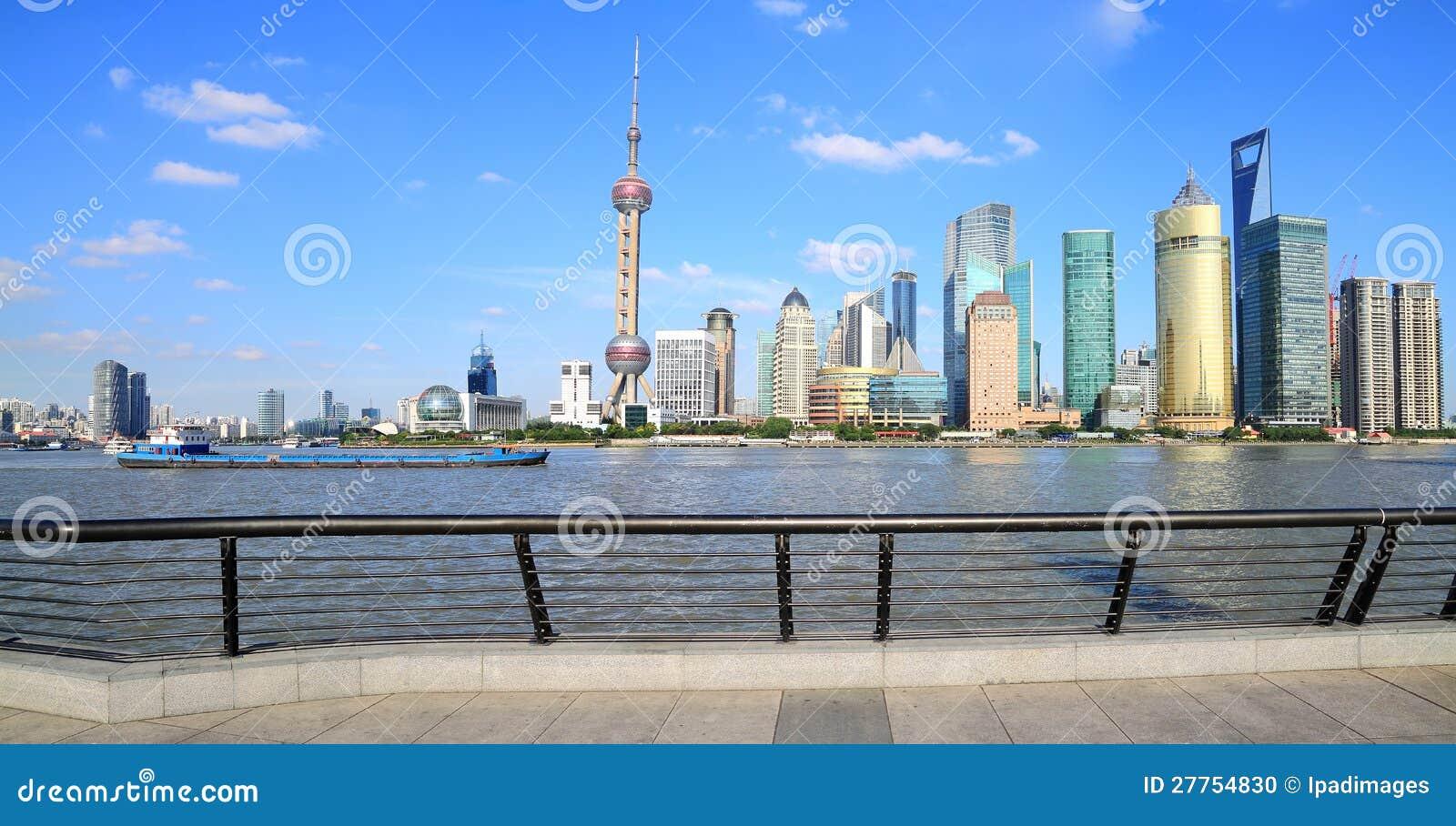 Horizon de borne limite de Changhaï