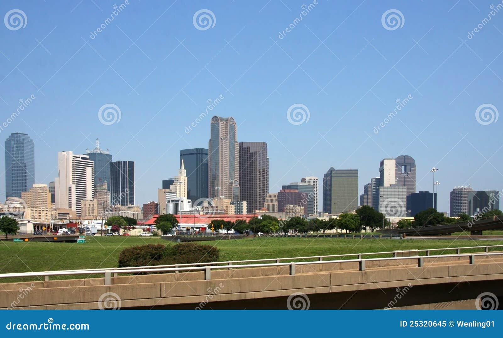 Horizon de Dallas du centre