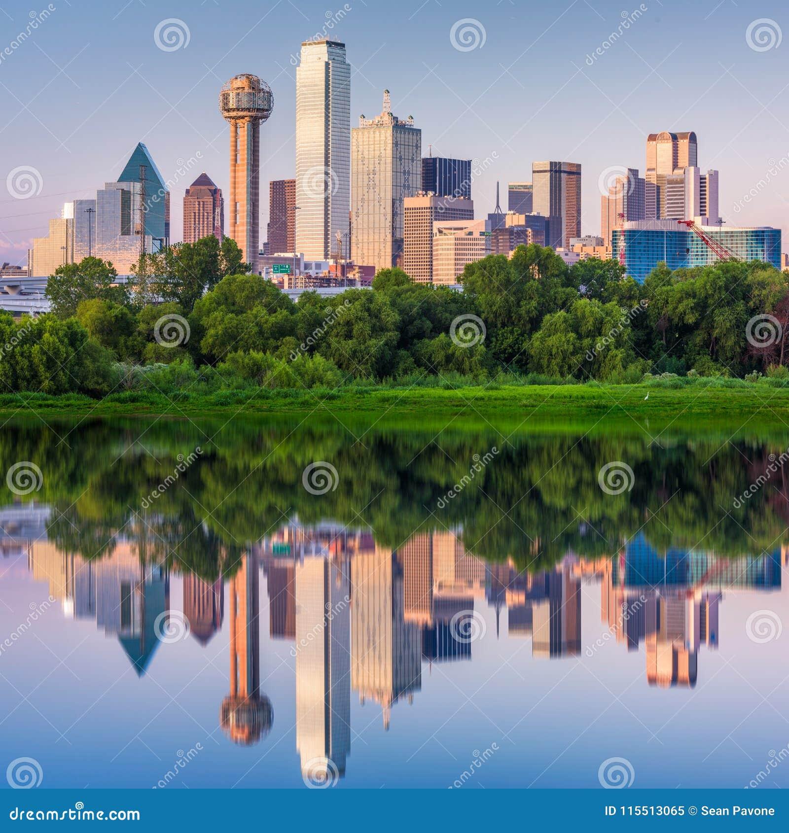 Horizon de Dallas, le Texas, Etats-Unis