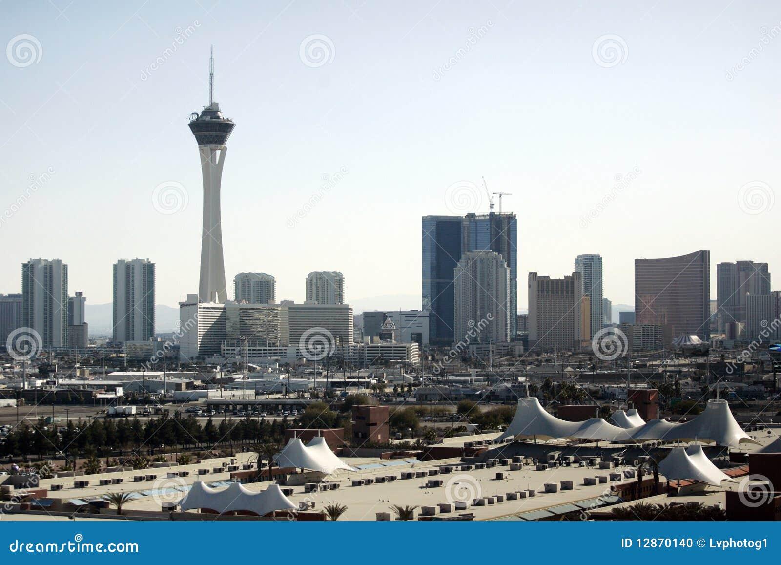Horizon de Las Vegas à la journée