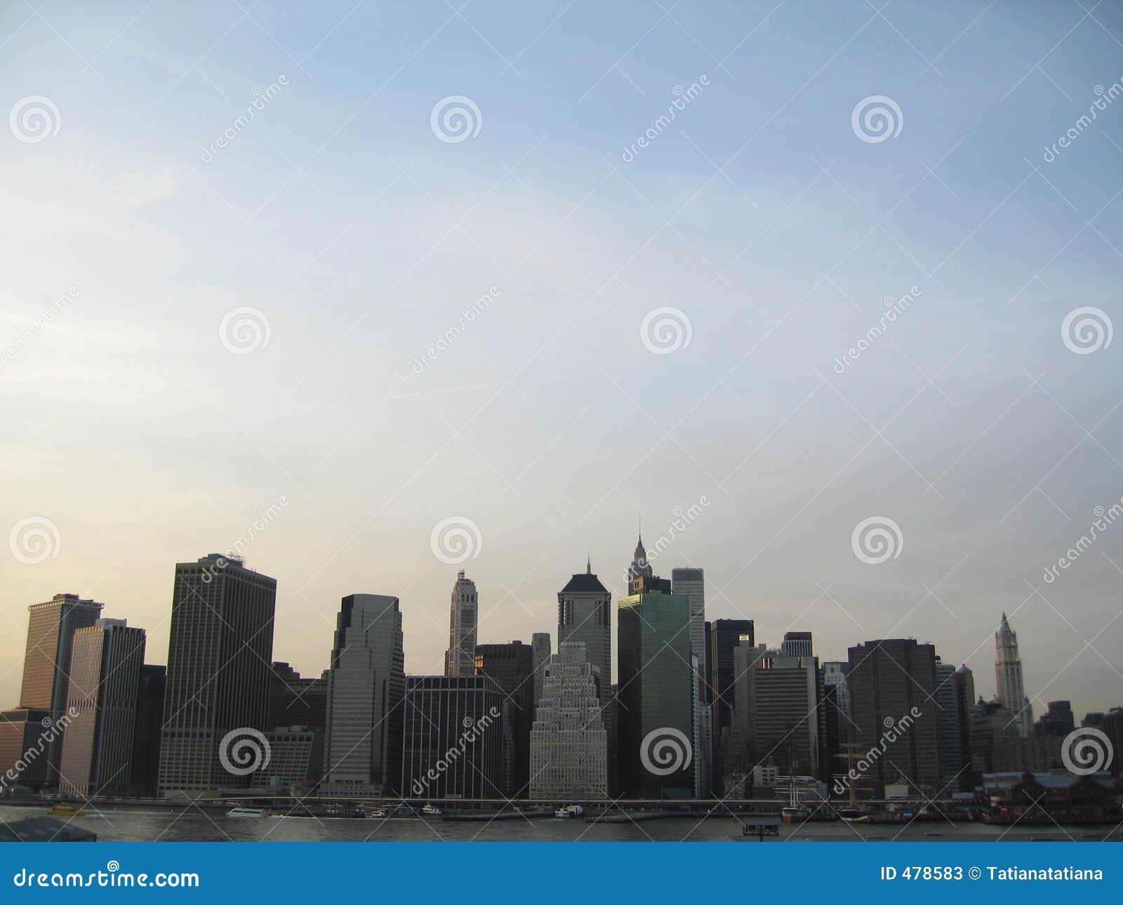 Horizon de Manhattan