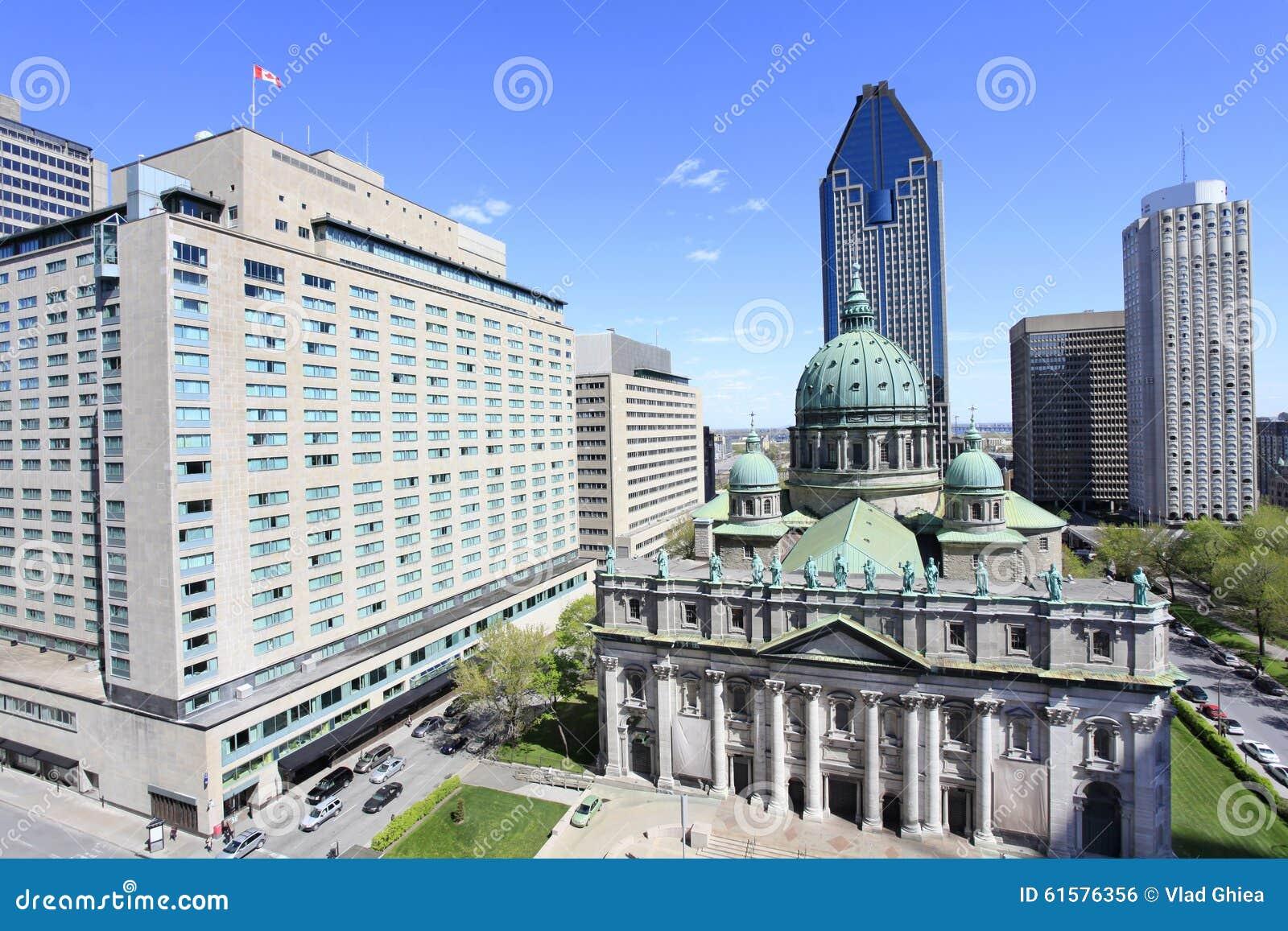 Horizon de Montréal, Place du Canada, vue aérienne