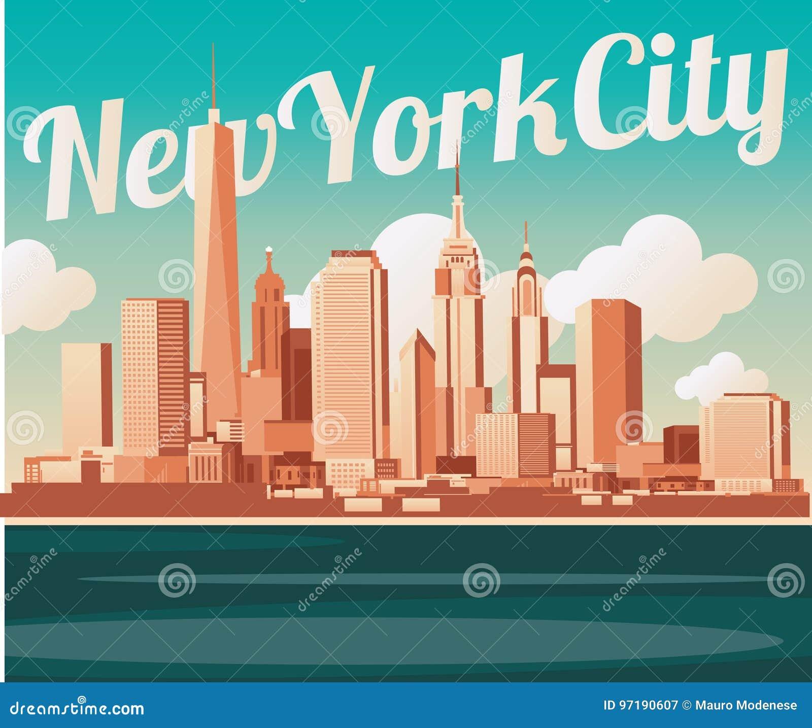 Horizon de New York City