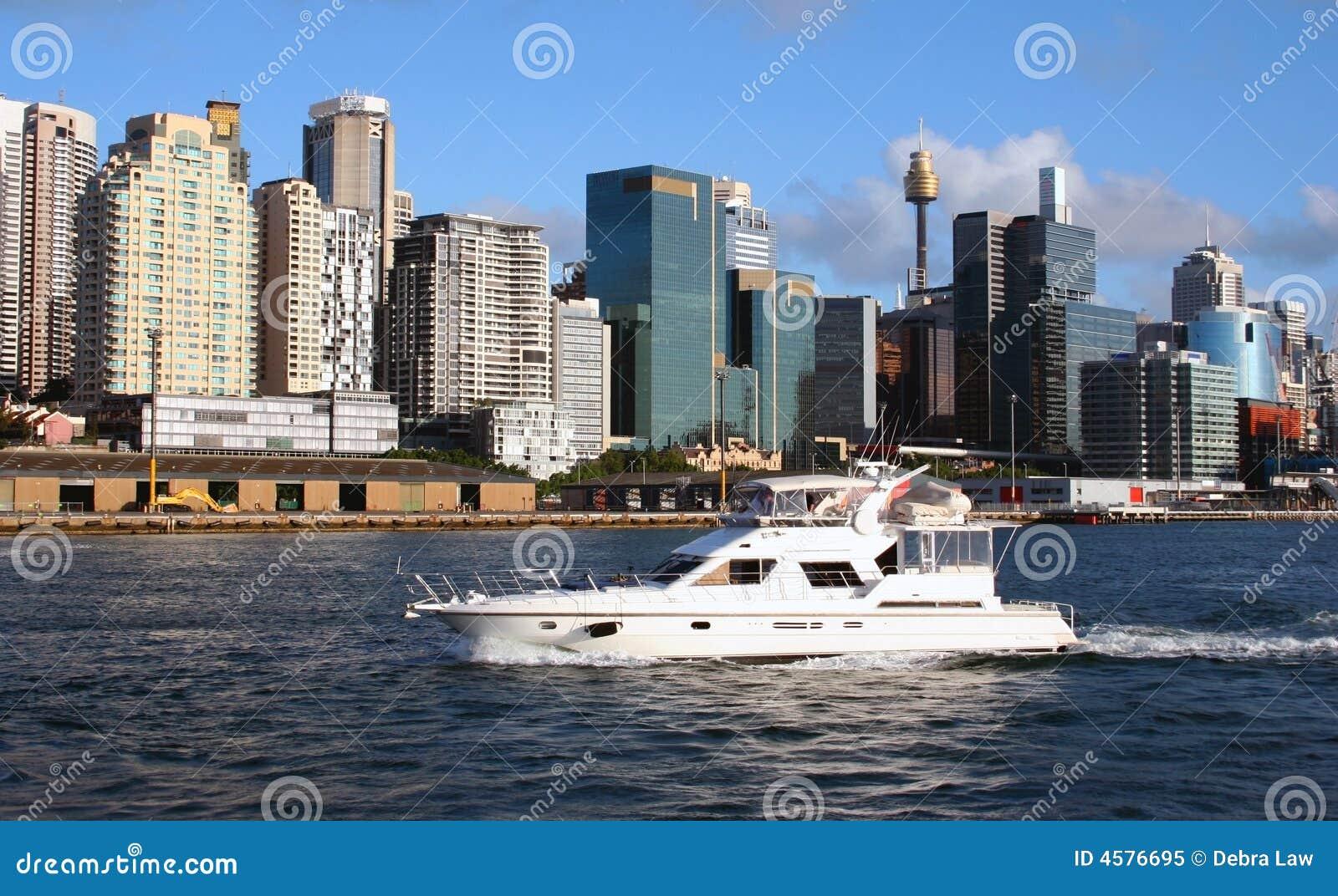 Horizon de port de Sydney, Australie