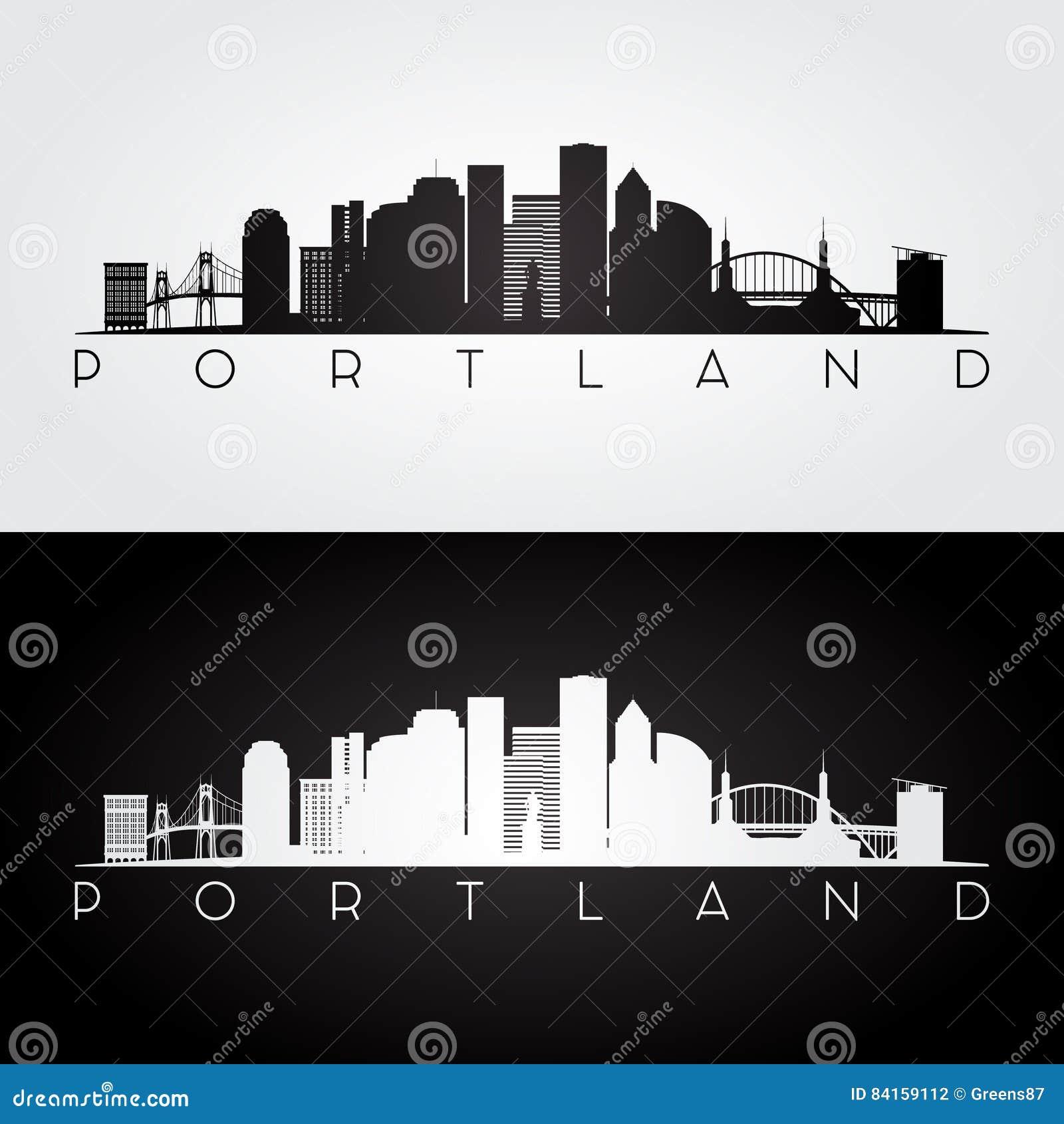 Horizon de Portland Etats-Unis