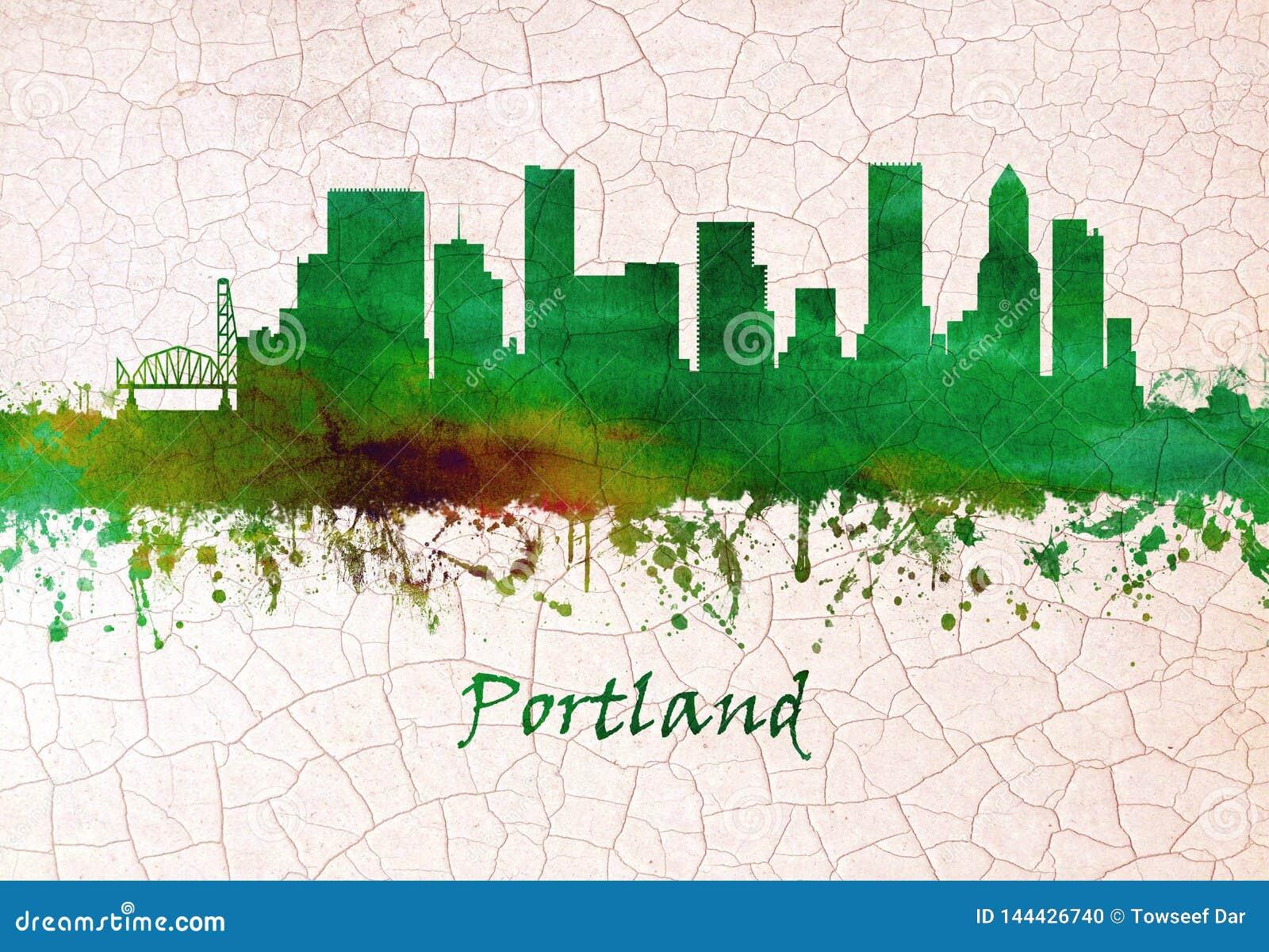 Horizon de Portland Or?gon