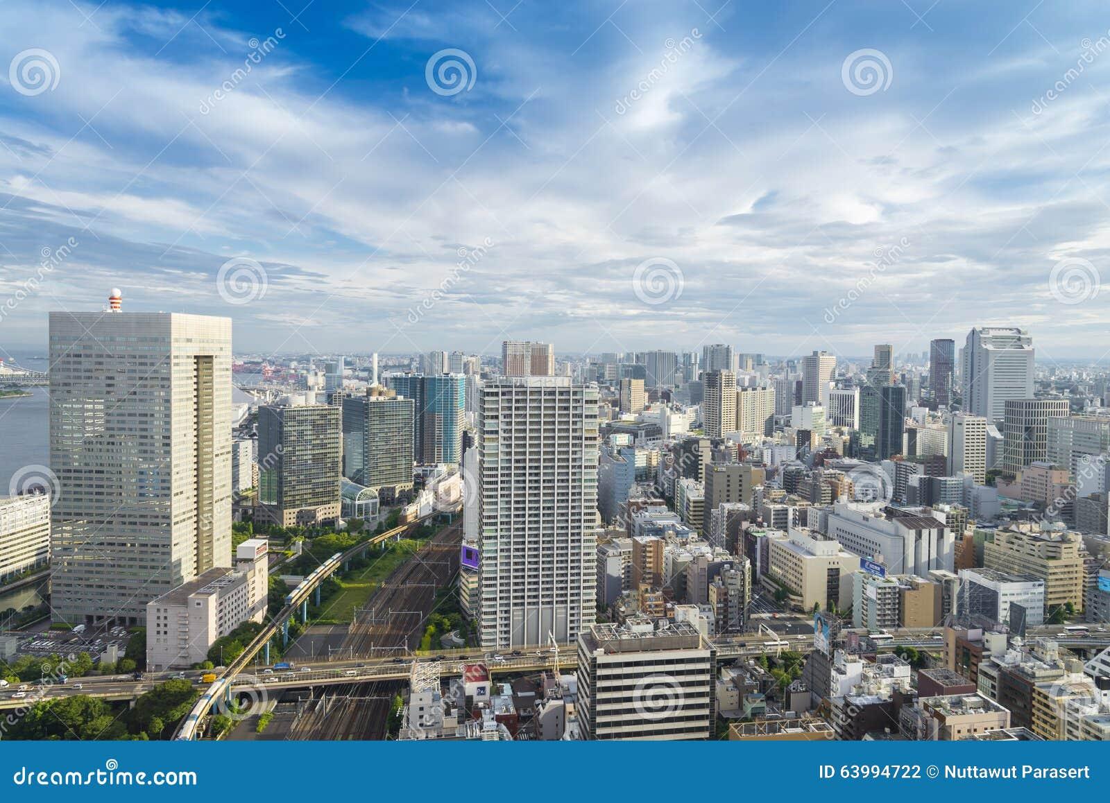 Horizon de tokyo paysage urbain de ville de tokyo japon for Paysage de ville