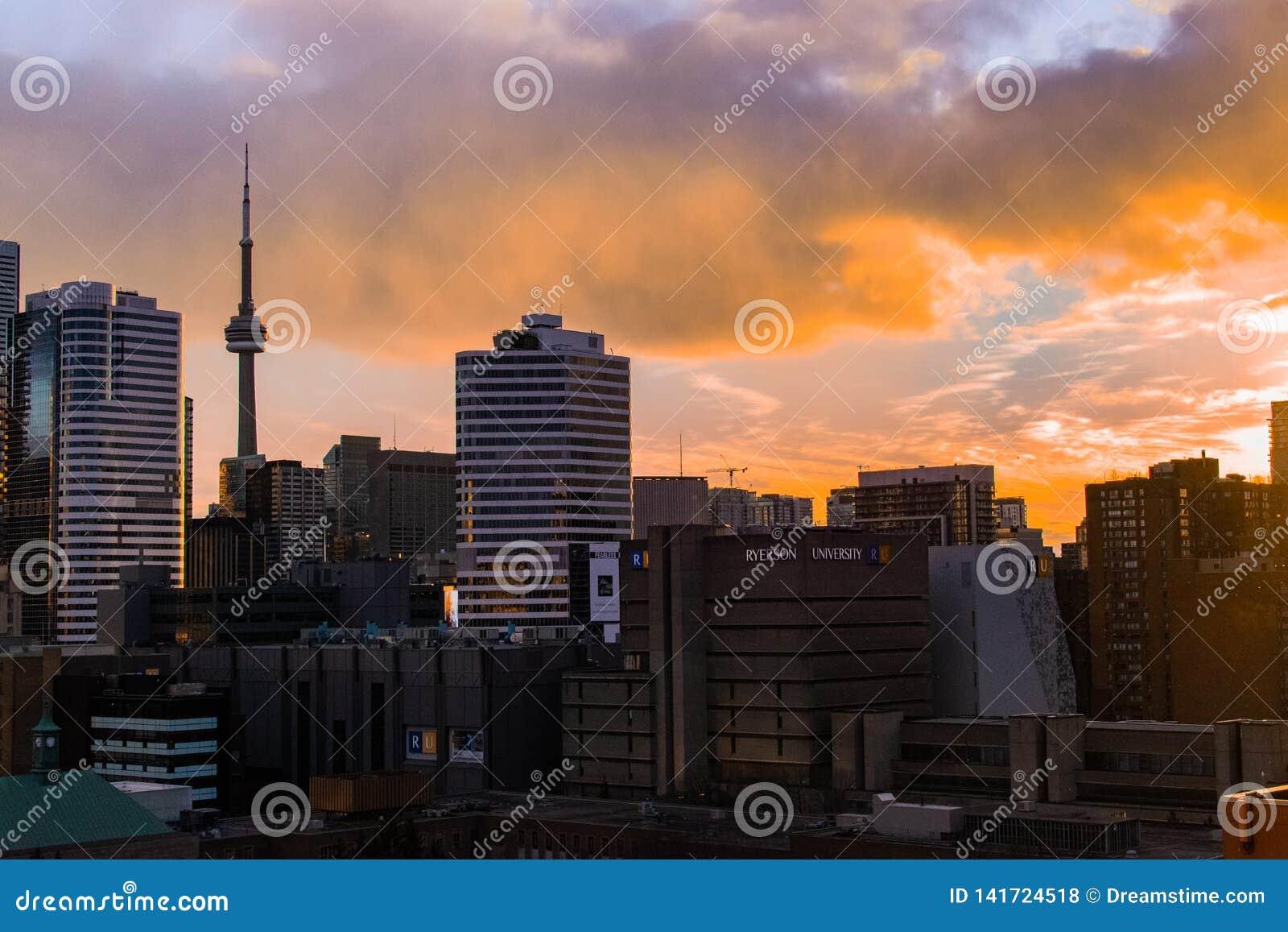 Horizon de Toronto - tour de NC